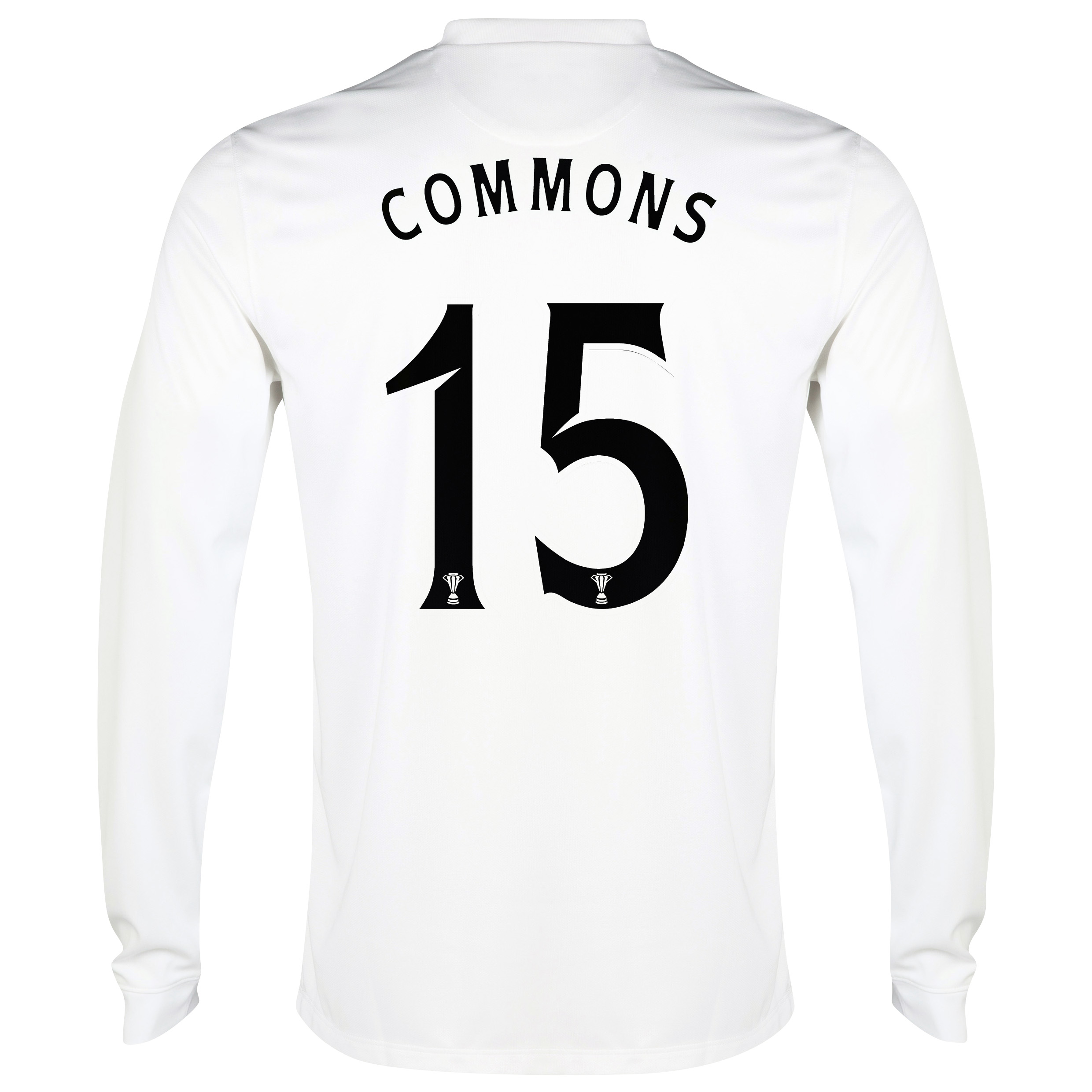 Celtic 3rd Shirt 2014/15 - Long Sleeved - Unsponsored White with Commons 15 printing