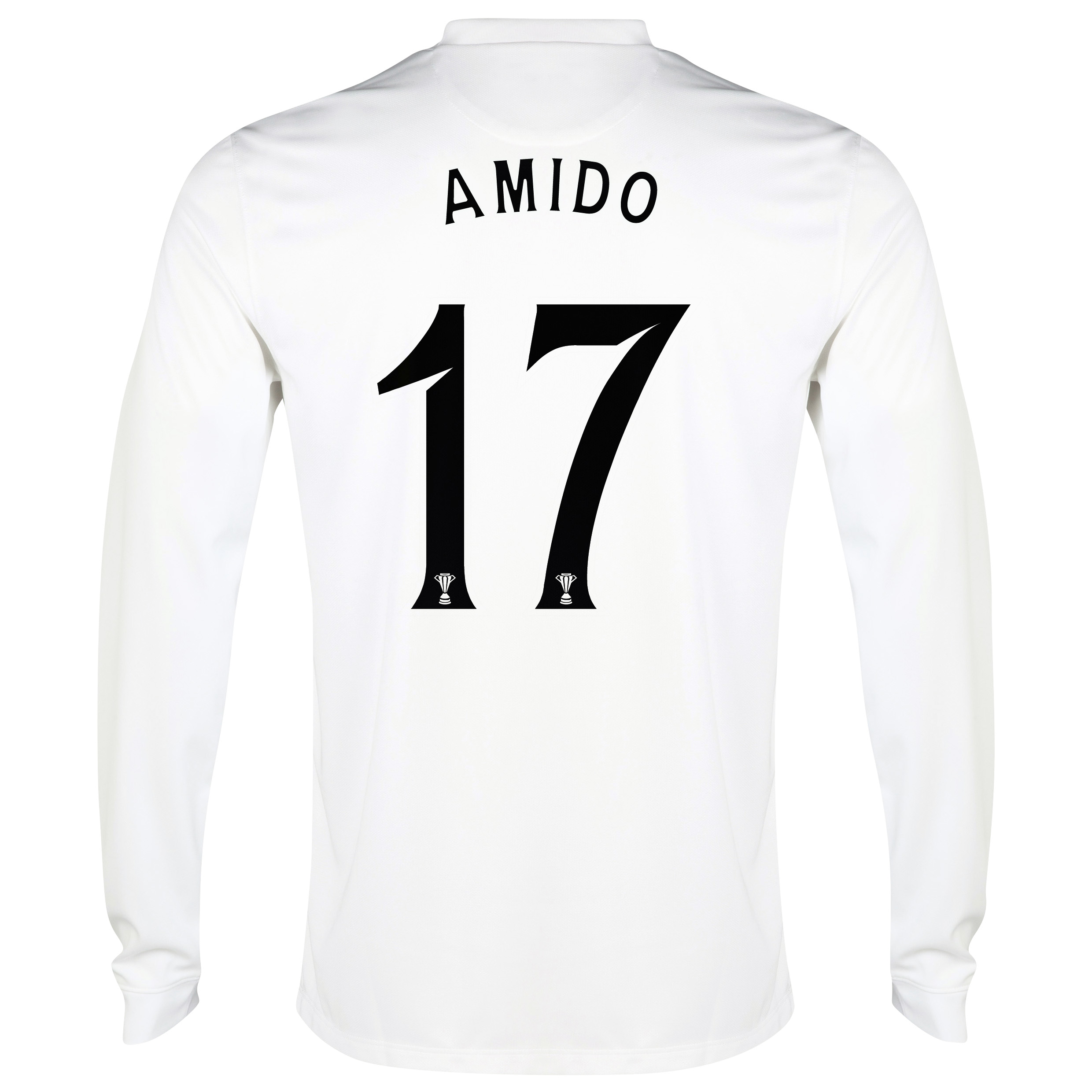Celtic 3rd Shirt 2014/15 - Long Sleeved - Unsponsored White with Amido 17 printing