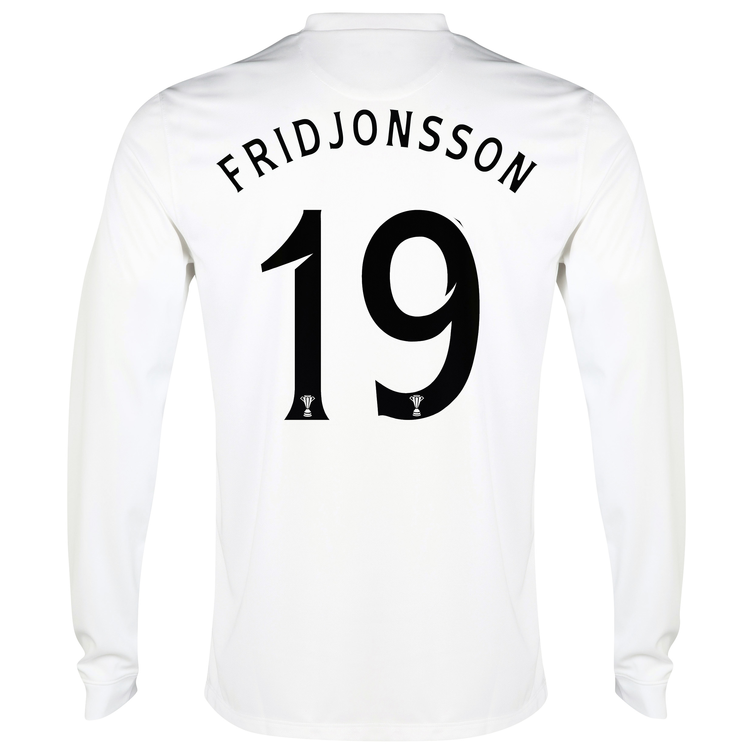Celtic 3rd Shirt 2014/15 - Long Sleeved - Unsponsored White with Fridjonsson 19 printing