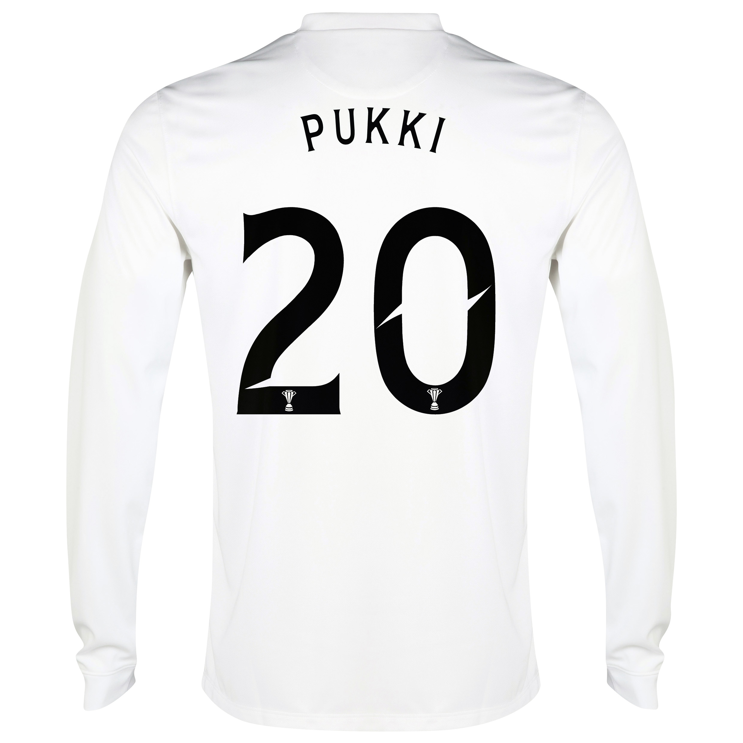 Celtic 3rd Shirt 2014/15 - Long Sleeved - Unsponsored White with Pukki 20 printing