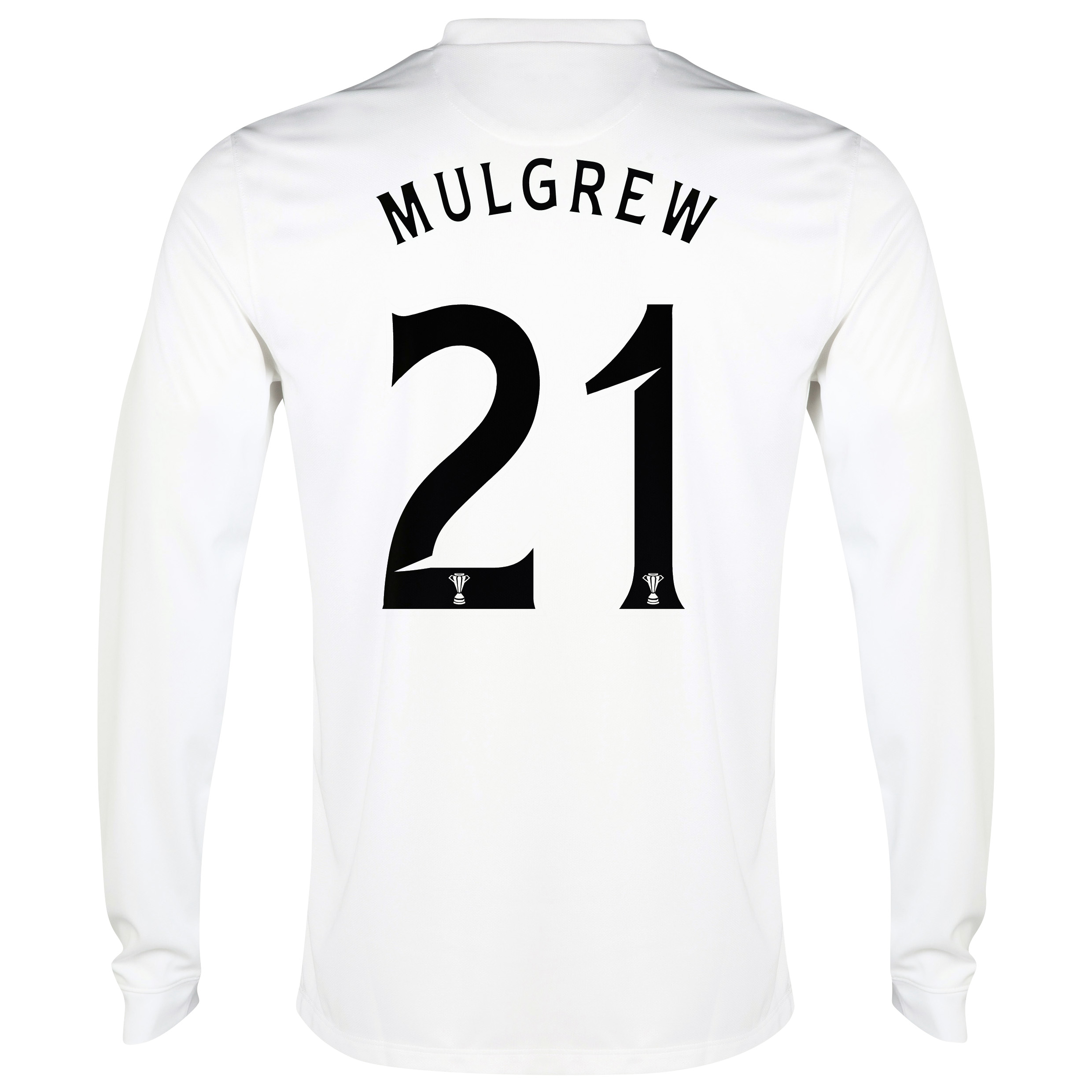 Celtic 3rd Shirt 2014/15 - Long Sleeved - Unsponsored White with Mulgrew 21 printing
