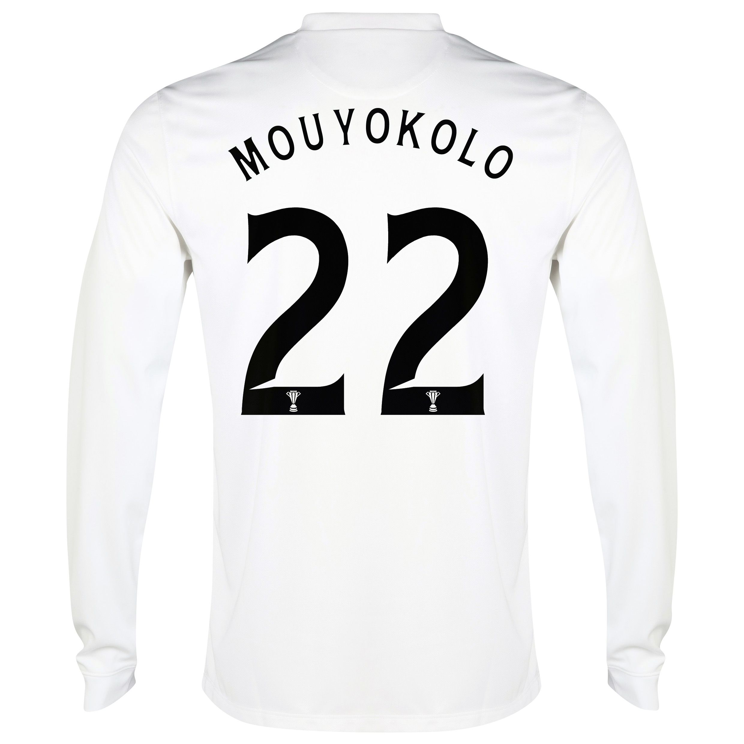Celtic 3rd Shirt 2014/15 - Long Sleeved - Unsponsored White with Mouyokolo 22 printing
