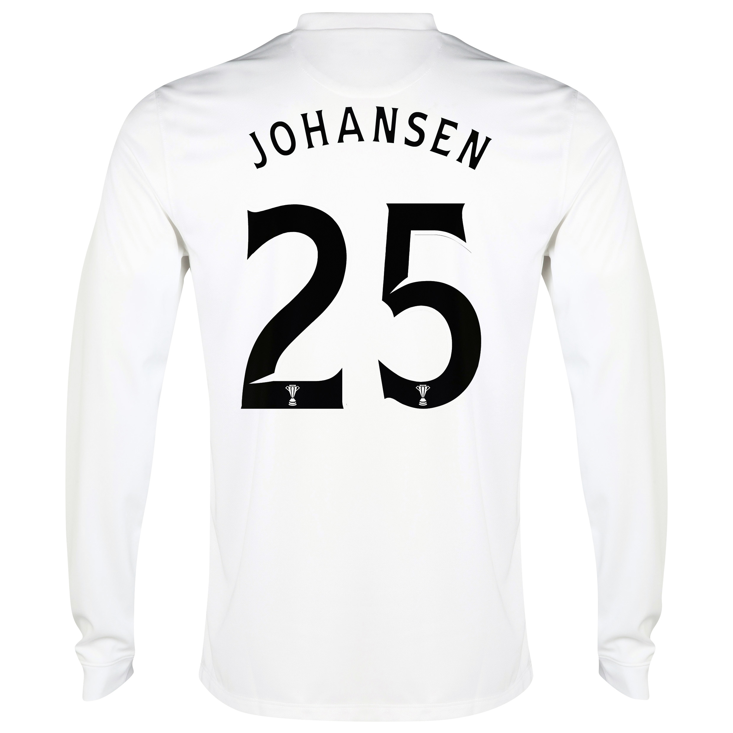Celtic 3rd Shirt 2014/15 - Long Sleeved - Unsponsored White with Johansen 25 printing