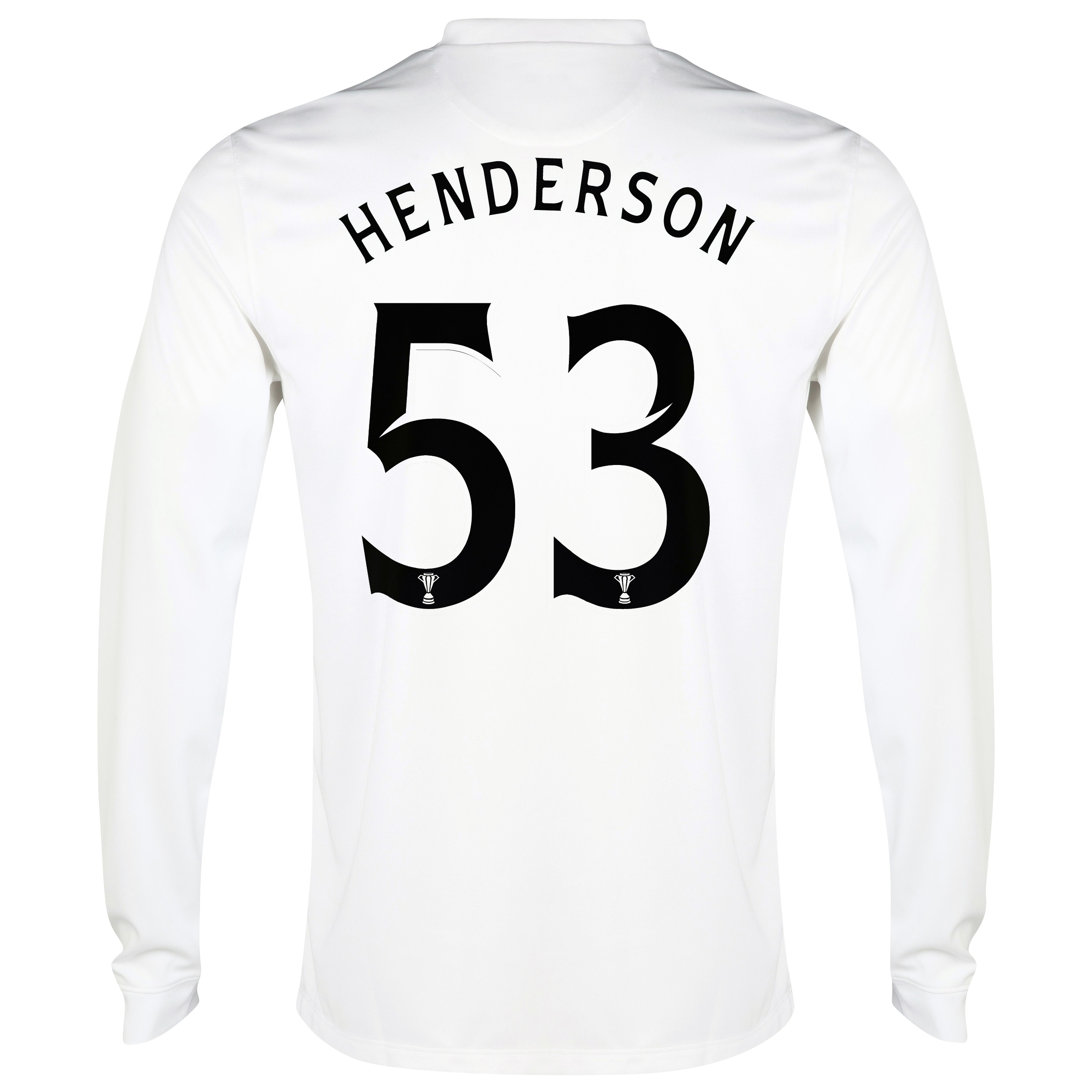 Celtic 3rd Shirt 2014/15 - Long Sleeved - Unsponsored White with Henderson 53 printing