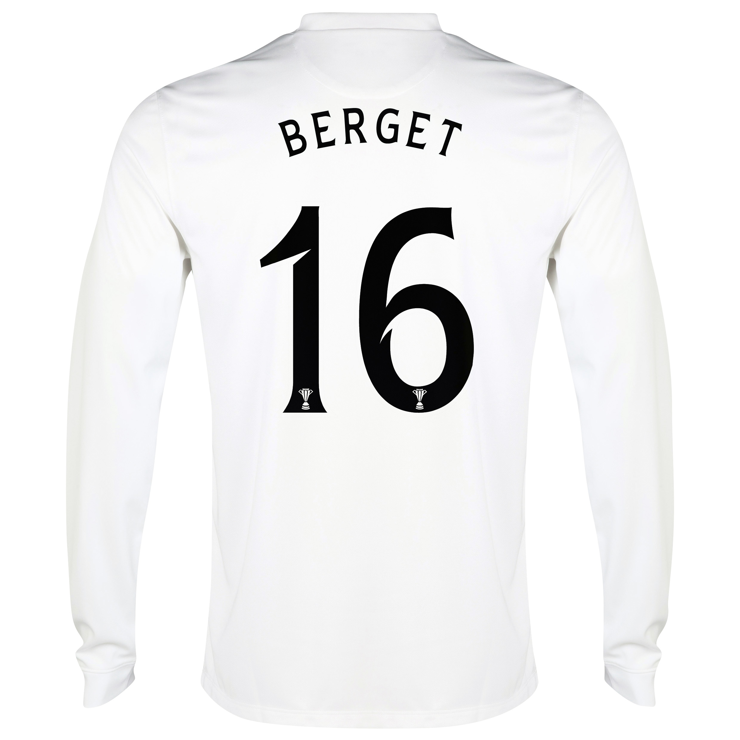 Celtic 3rd Shirt 2014/15 - Long Sleeved - Kids White with Berget 16 printing
