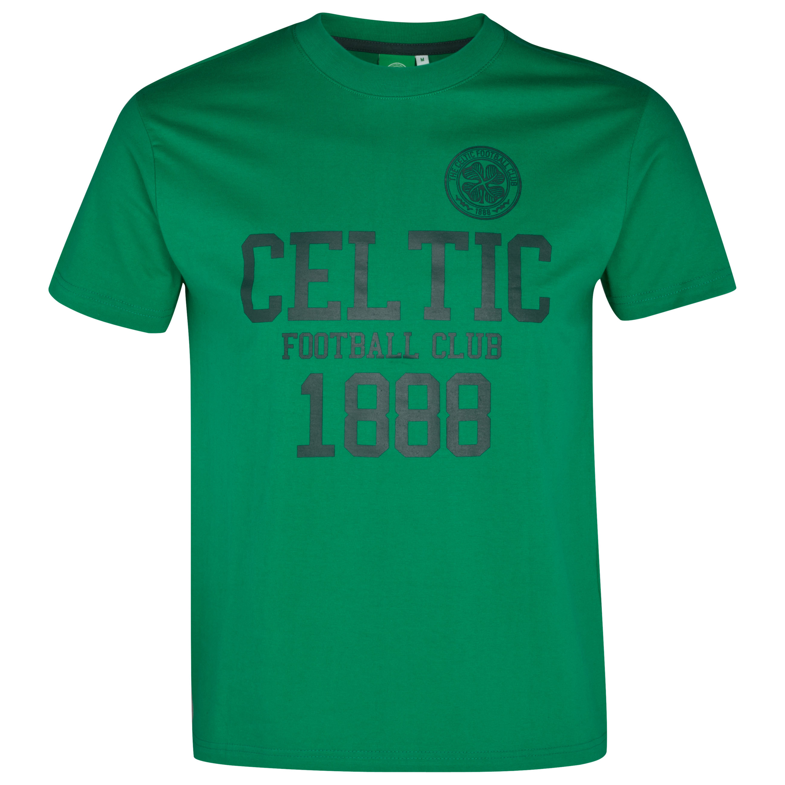Celtic Classic Graphic T-Shirt - Clover Green - Boys