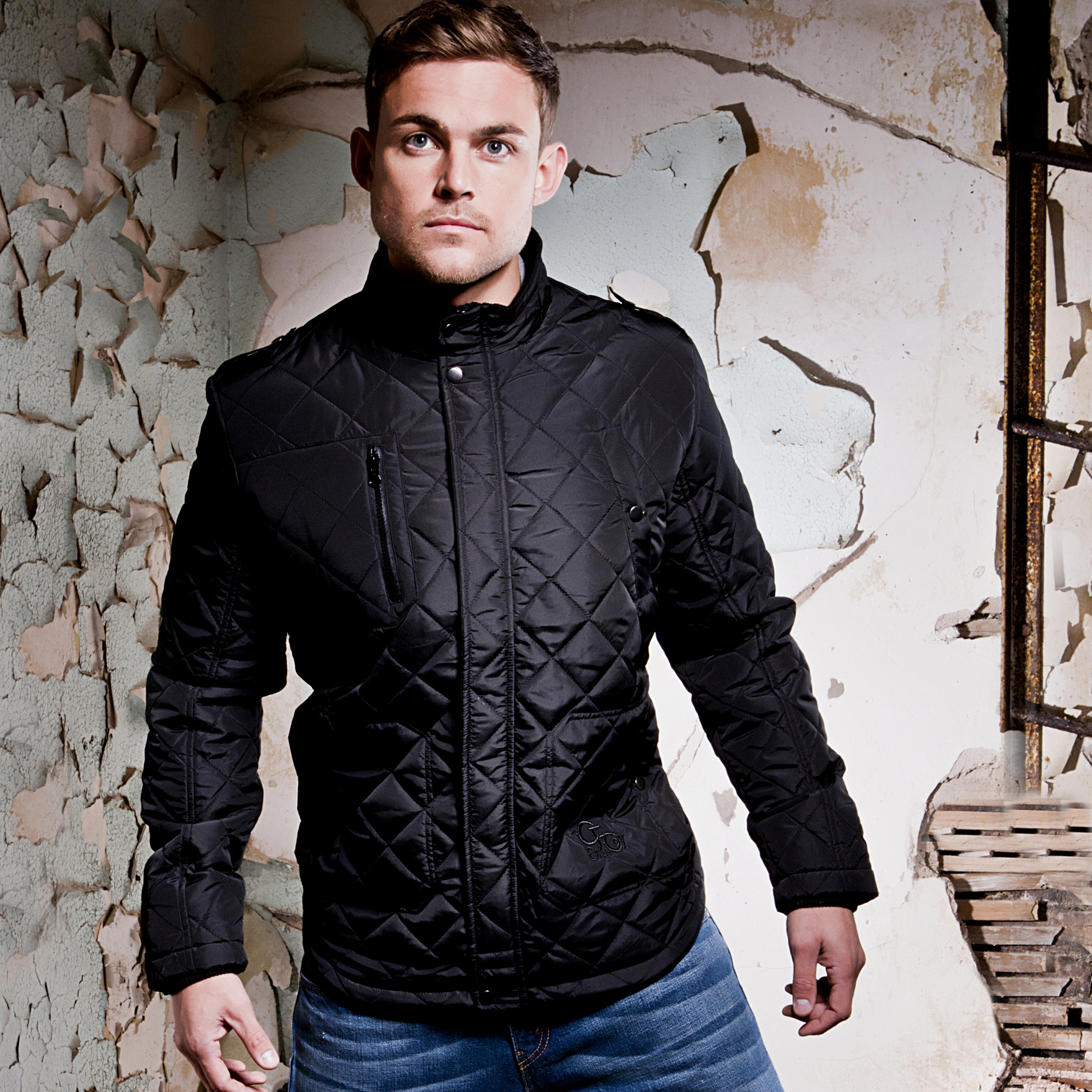 Celtic Heritage Nylon Jacket - Carbon - Mens
