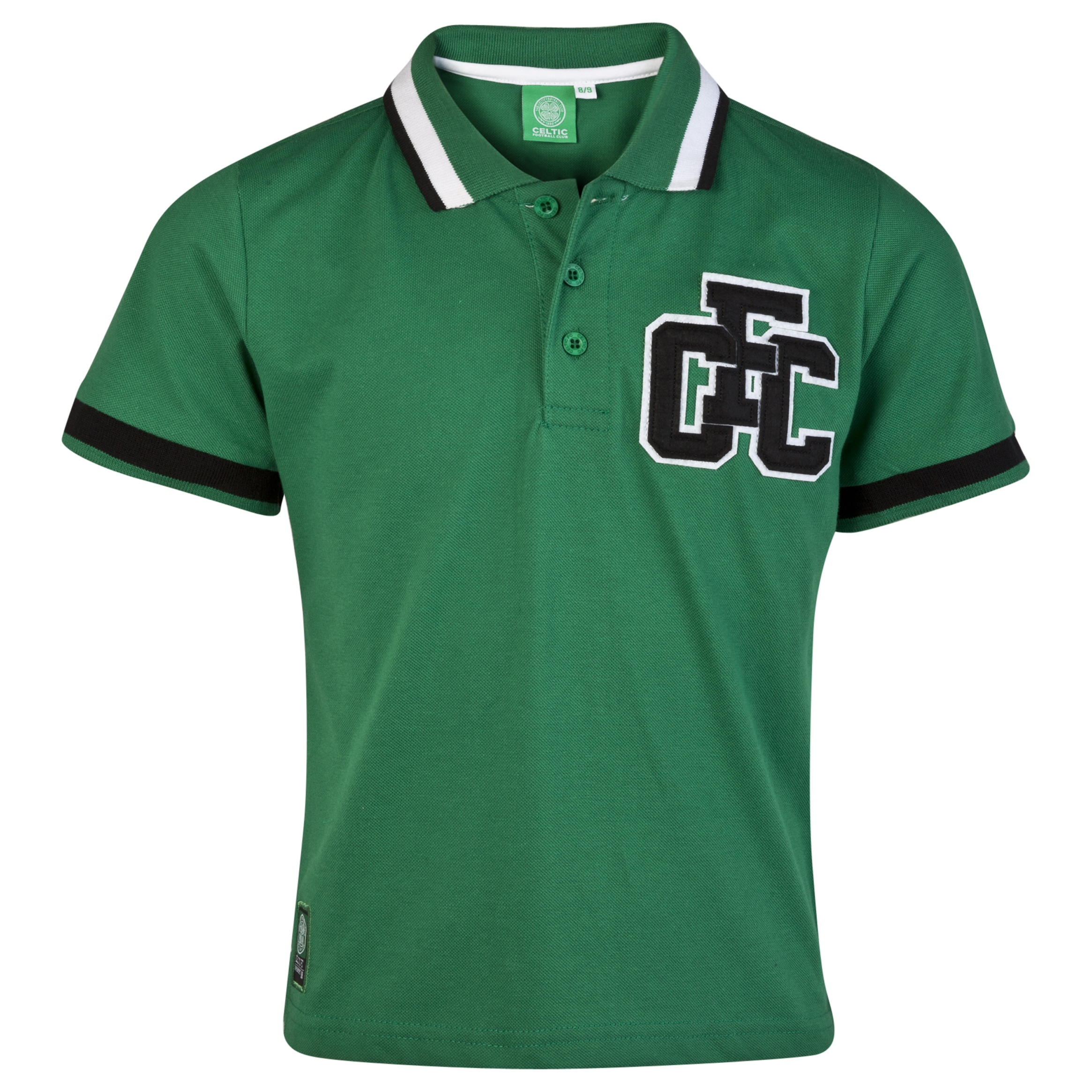Celtic CFC Applique Polo - Amazon Green - Boys