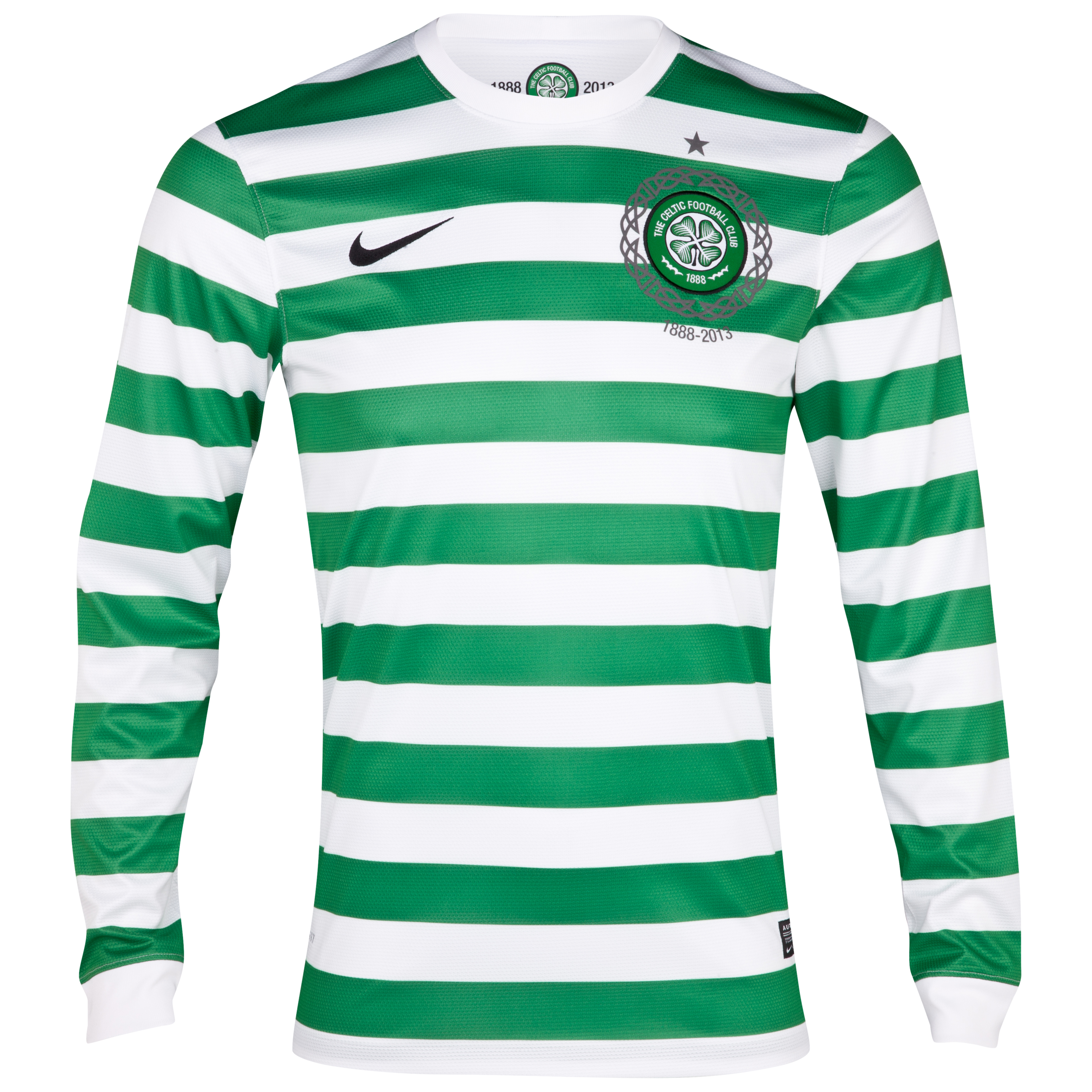Celtic Home Shirt 2012/13 Long Sleeved No Sponsor