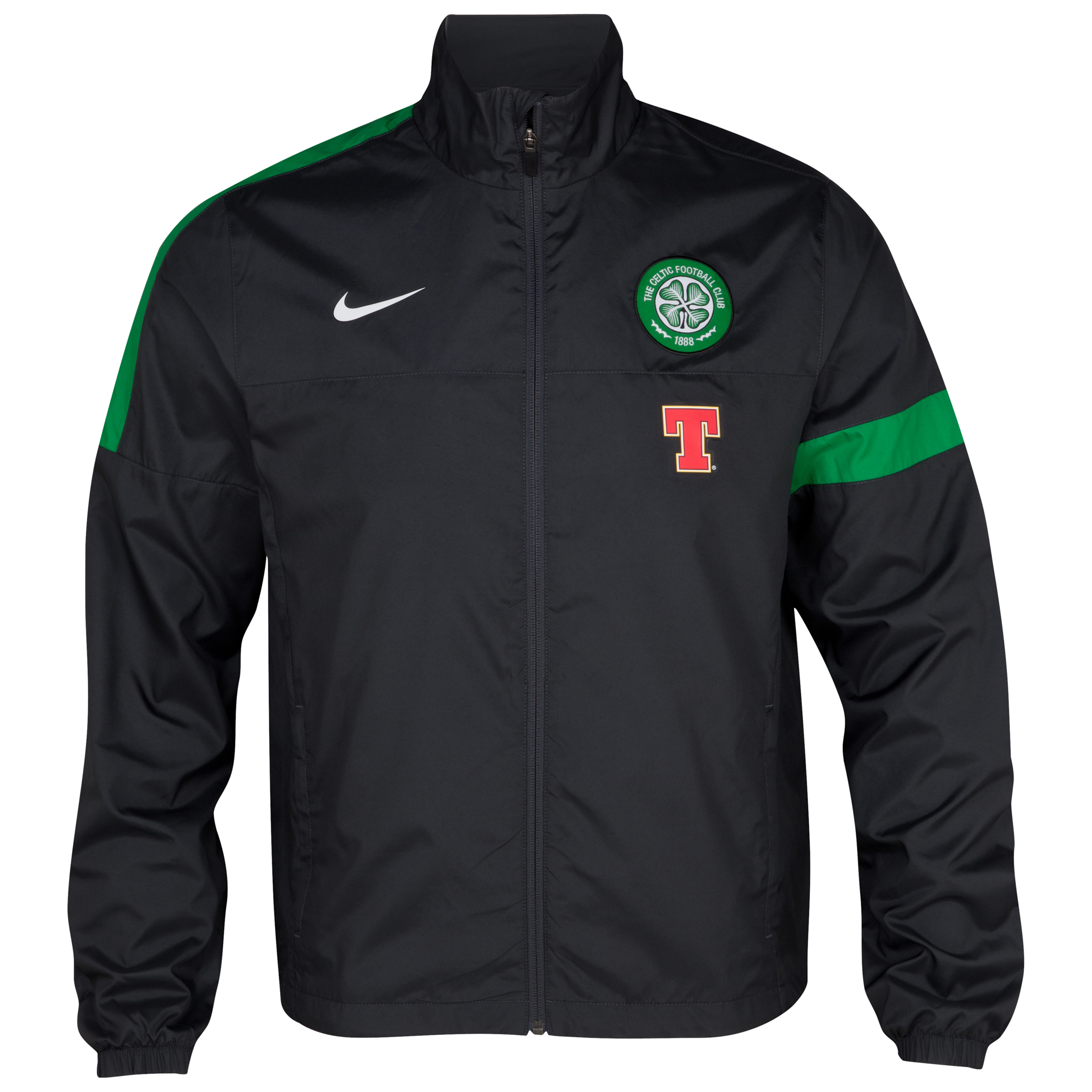 Celtic Woven Sideline Jacket - Anthracite/Anthracite/White