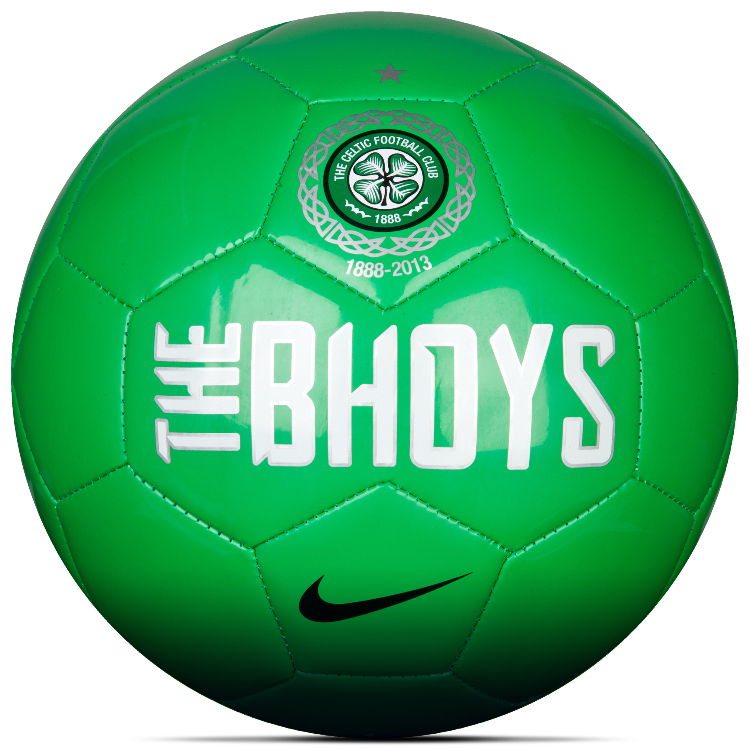 Celtic Supporters Football - Green/White - Size 5