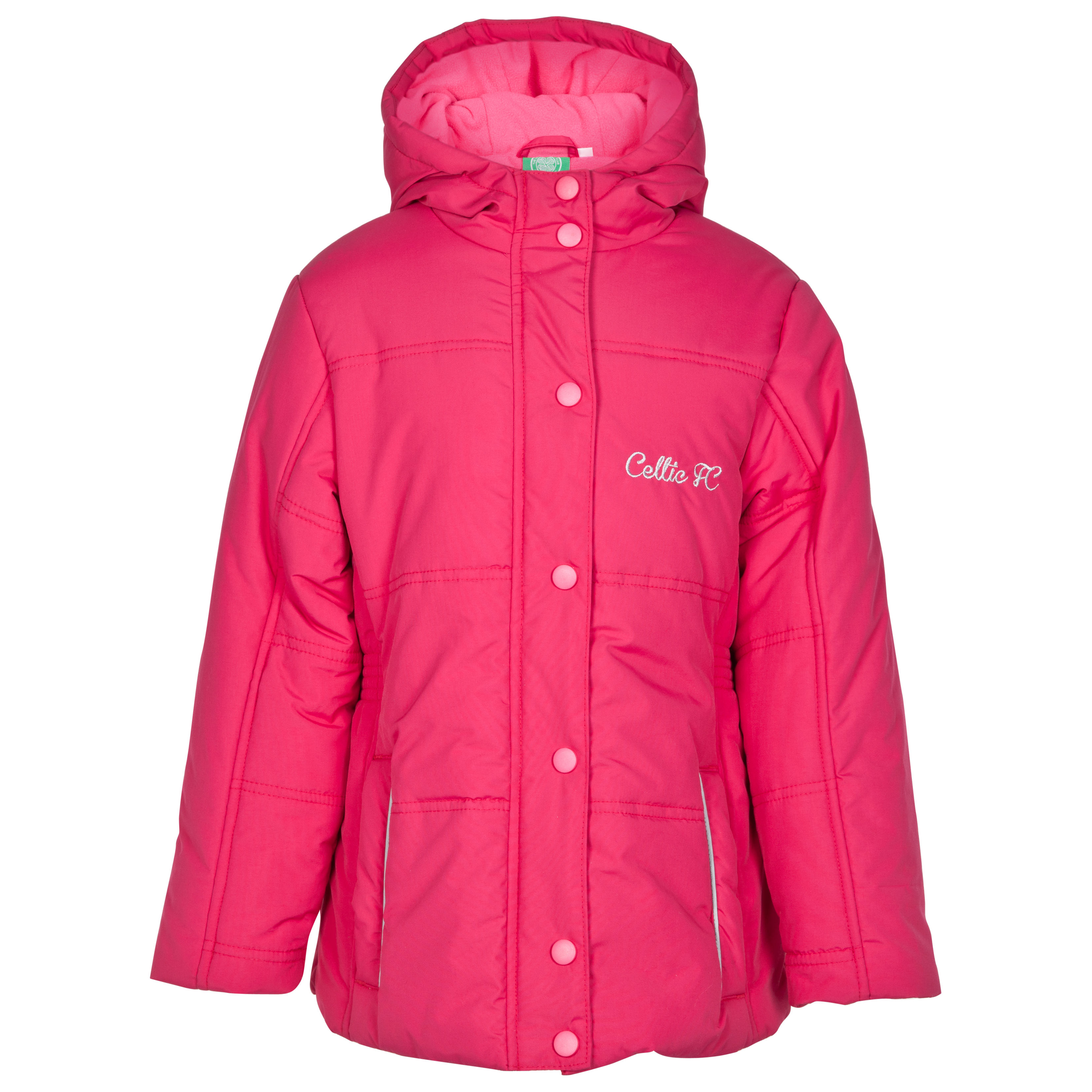 Celtic Padded Jacket - Pink - Girls