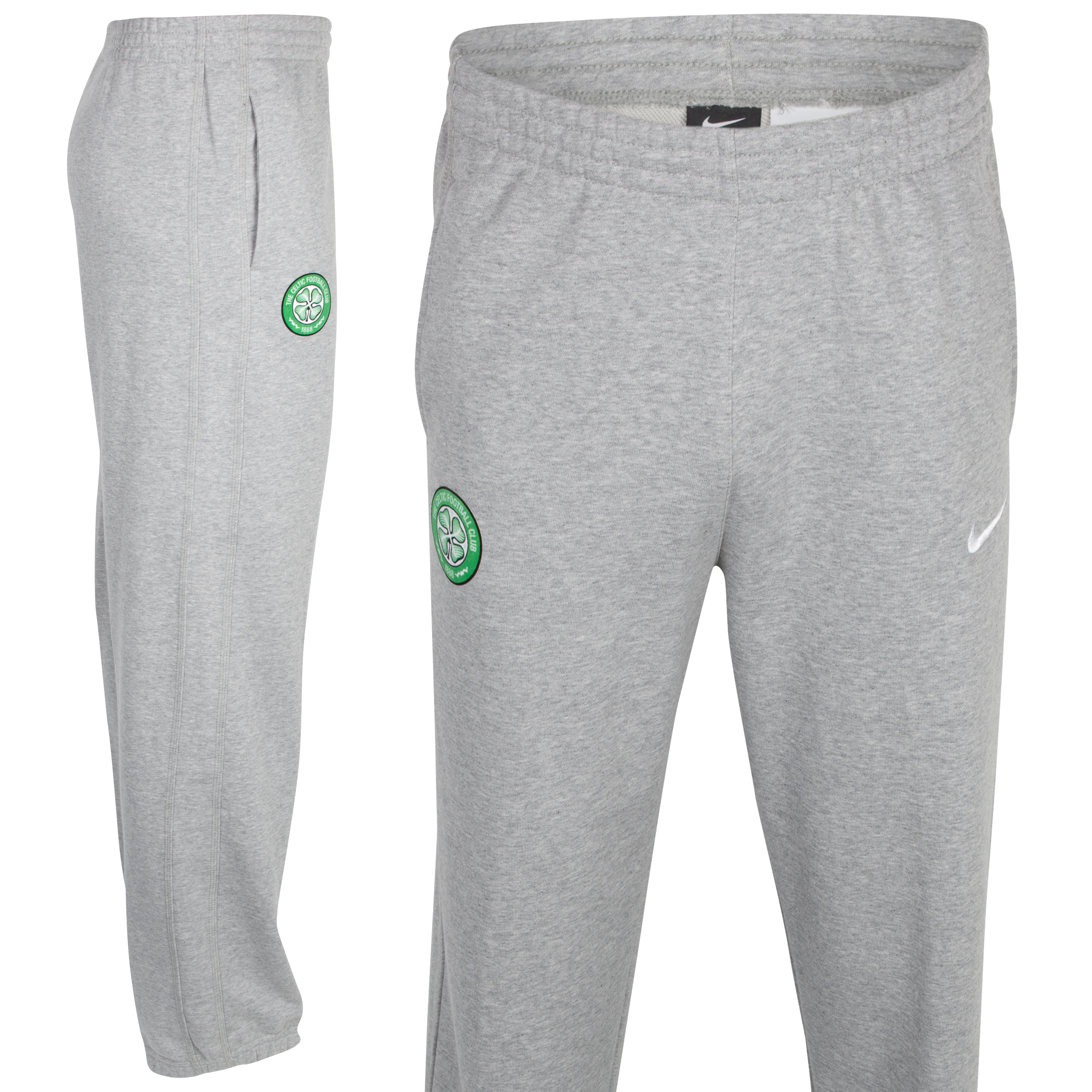 Celtic Score Cuffed Fleece Pant - Dark Grey - Youths