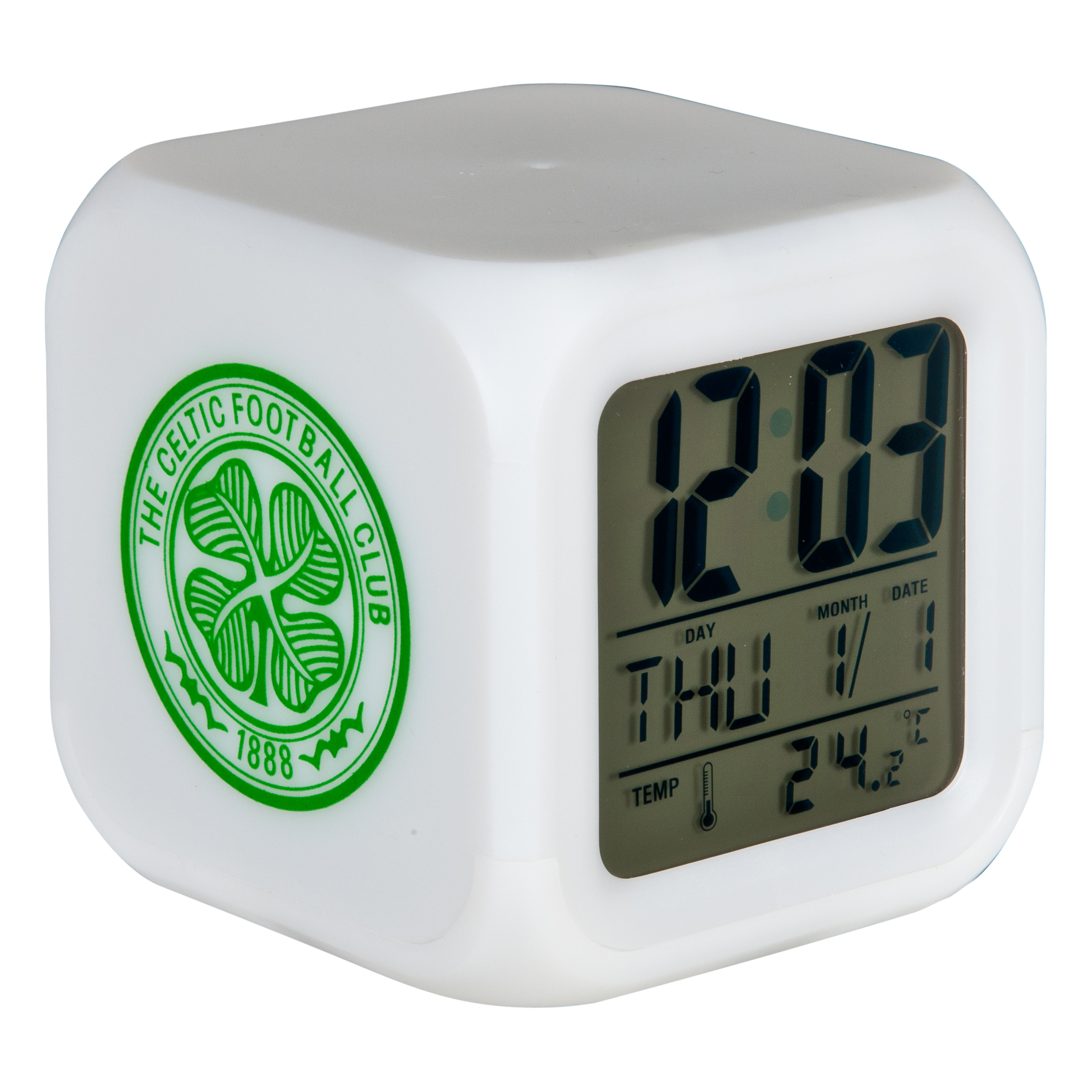 Celtic Digital Cube Clock