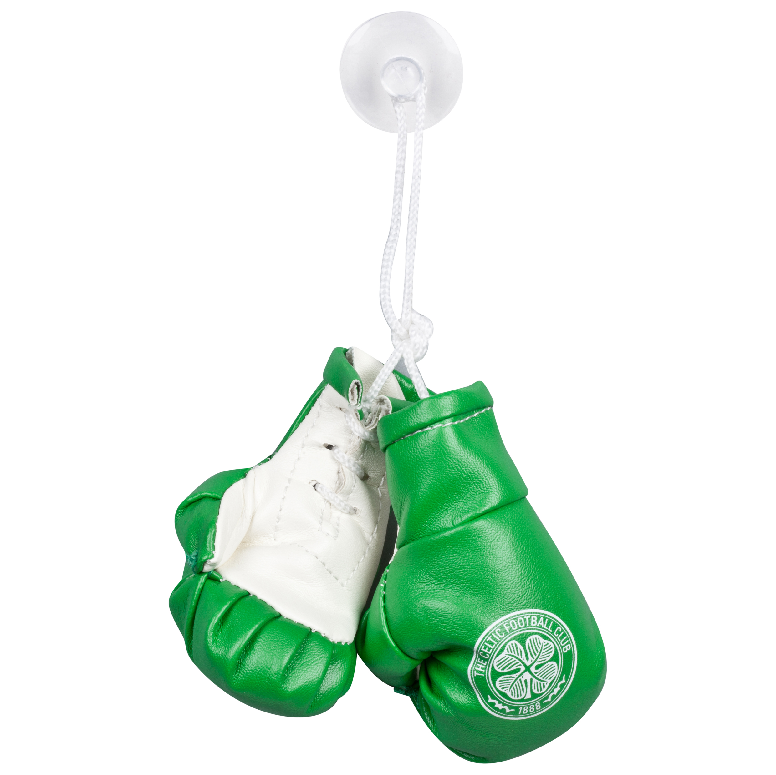 Celtic Car Hanging Boxing Gloves