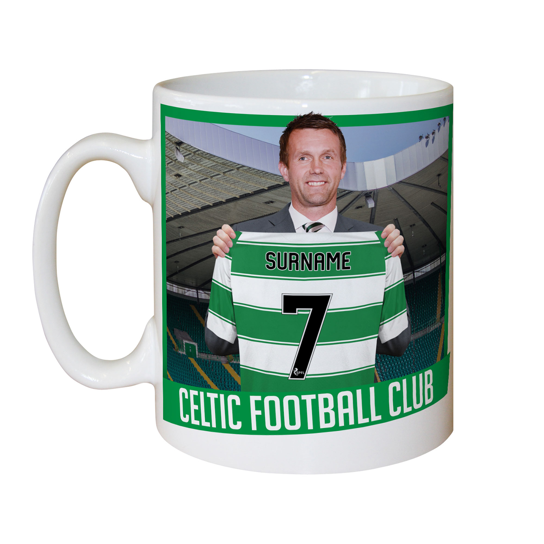 Celtic Personalised Manager Mug