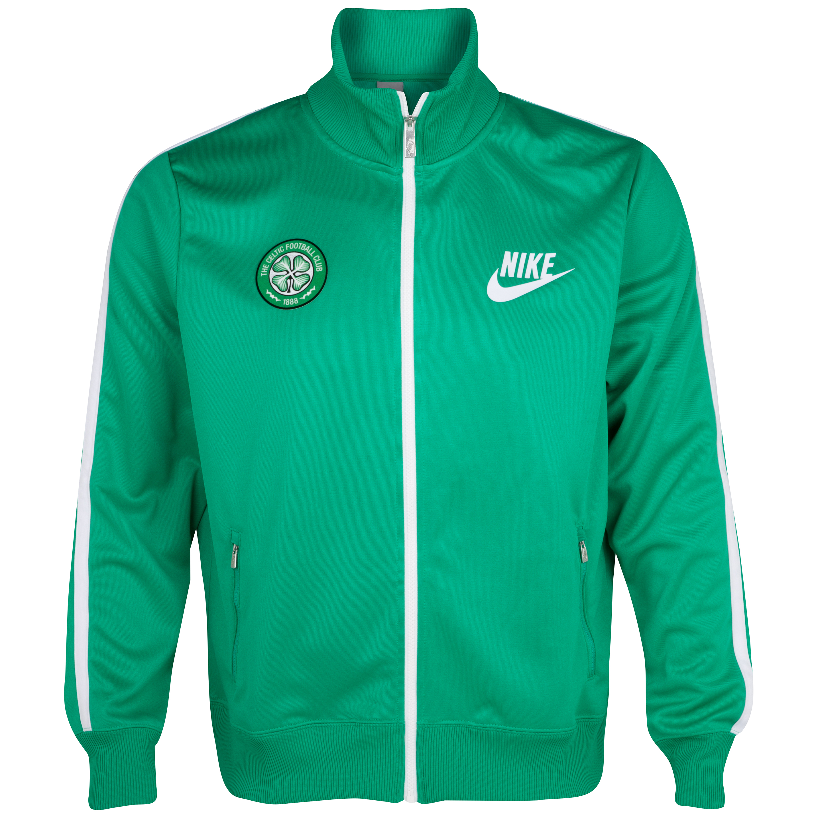Celtic Limitless Track Jacket - Stadium Green/White