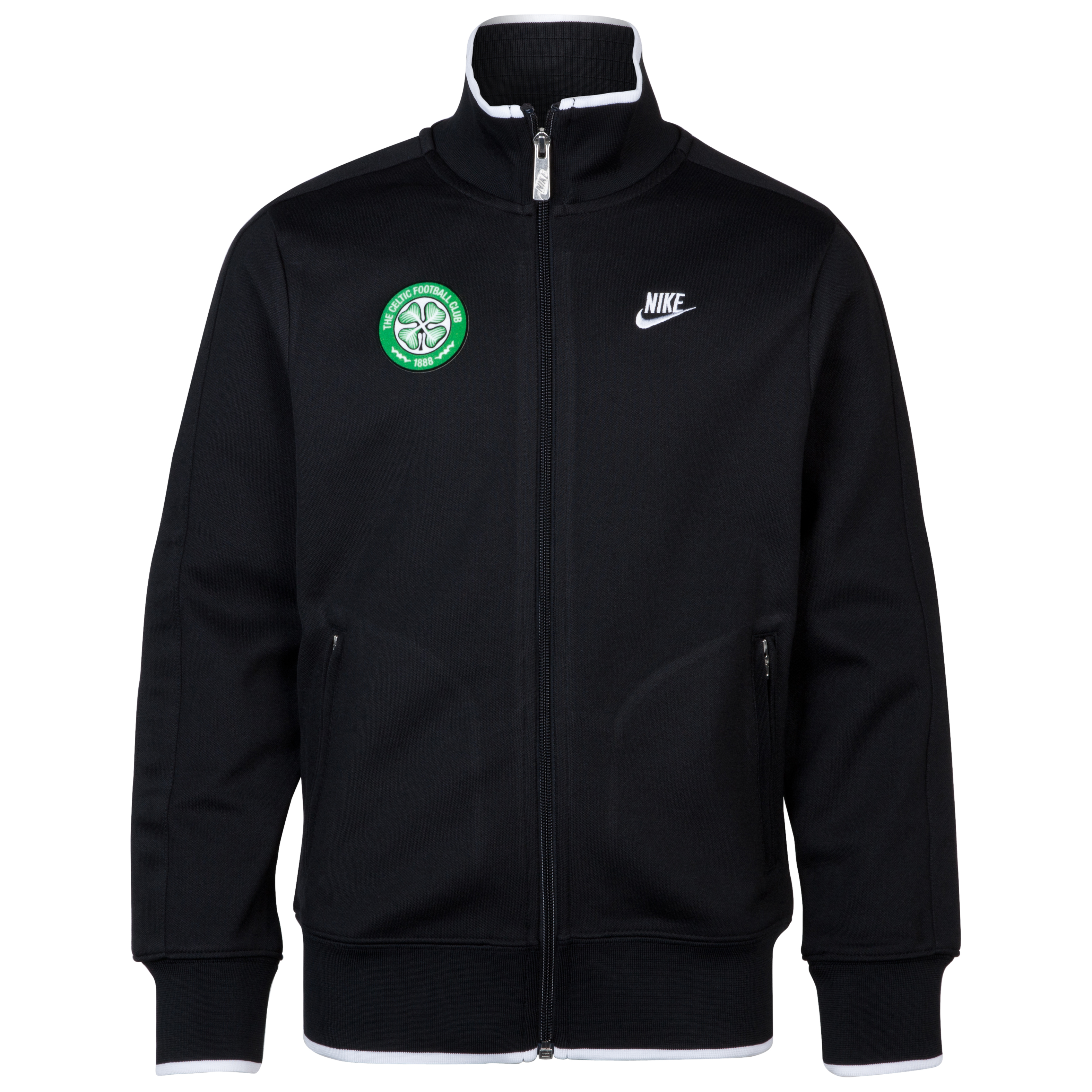 Celtic N98 Track Jacket - Black - Kids
