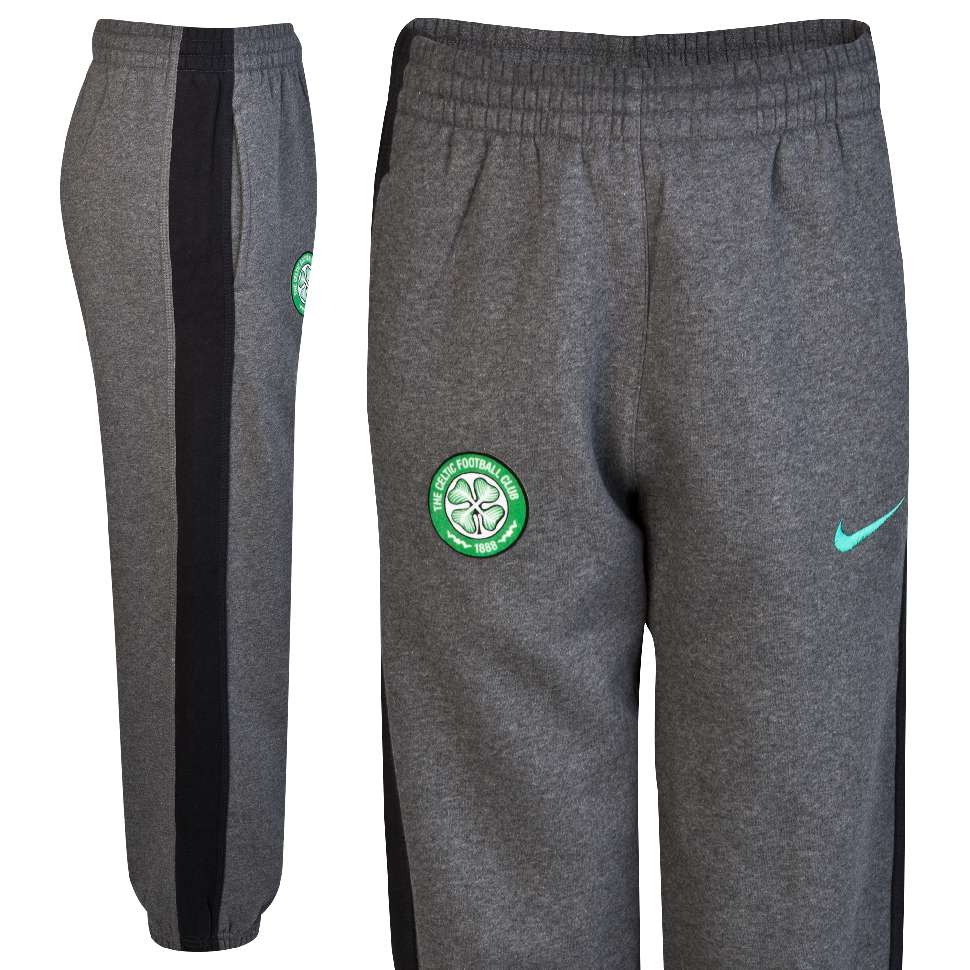 Celtic Cuffed Pant - Dark Grey Heather - Kids