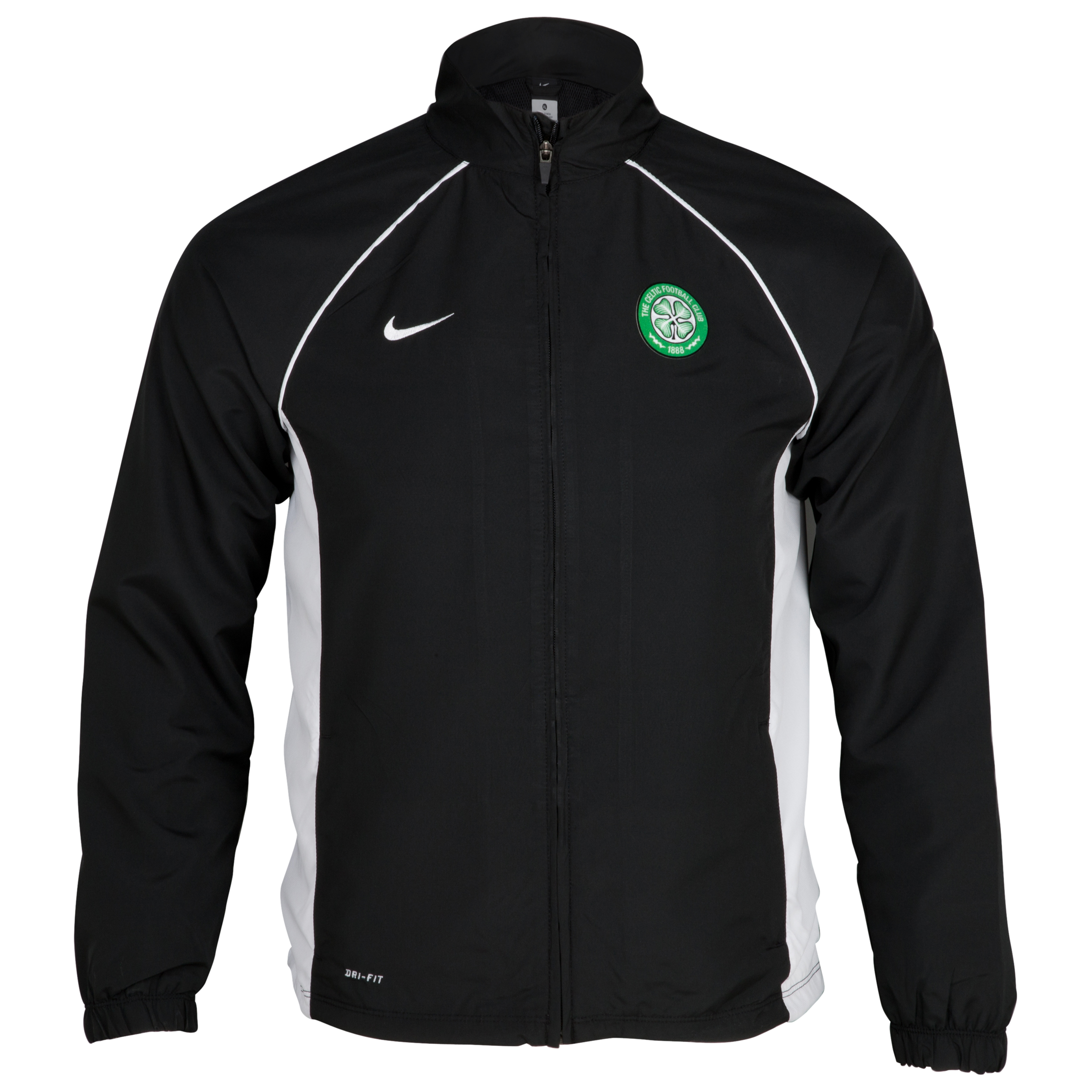 Celtic Sideline Jacket - Black - Youths