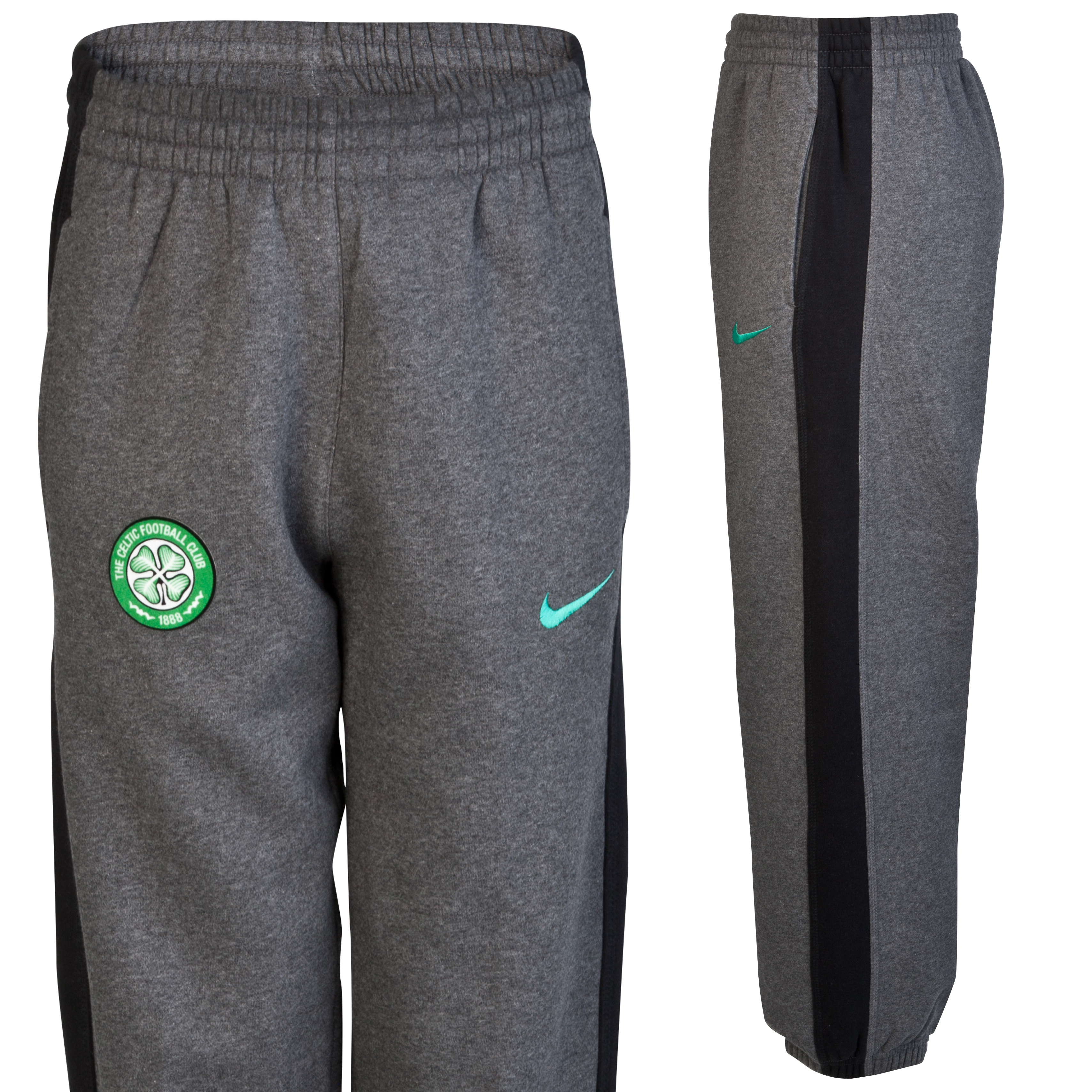 Celtic Cuffed Pant - Dark Grey Heather - Youths