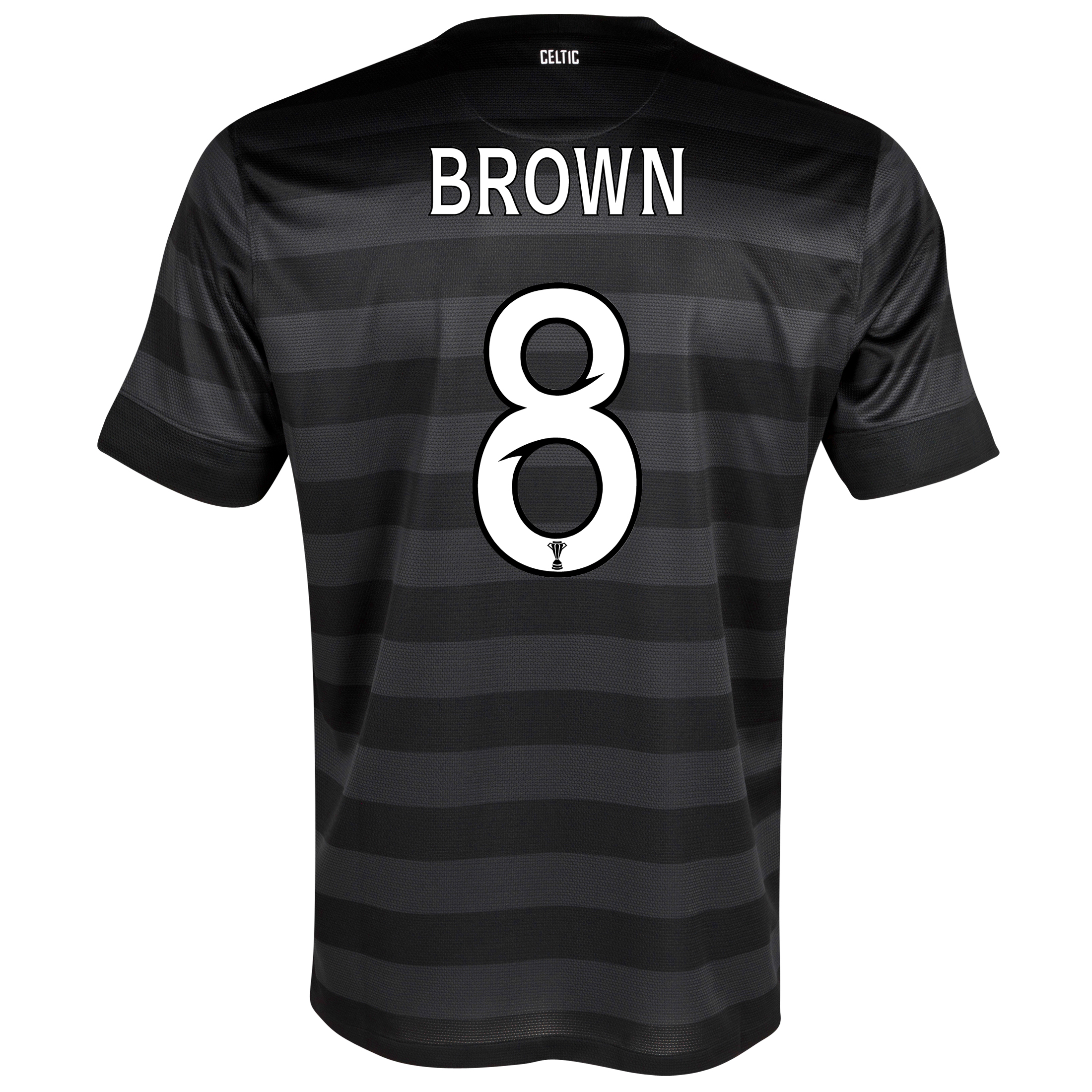 Celtic Away Shirt 2012/13 -  Kids with Brown 8 printing