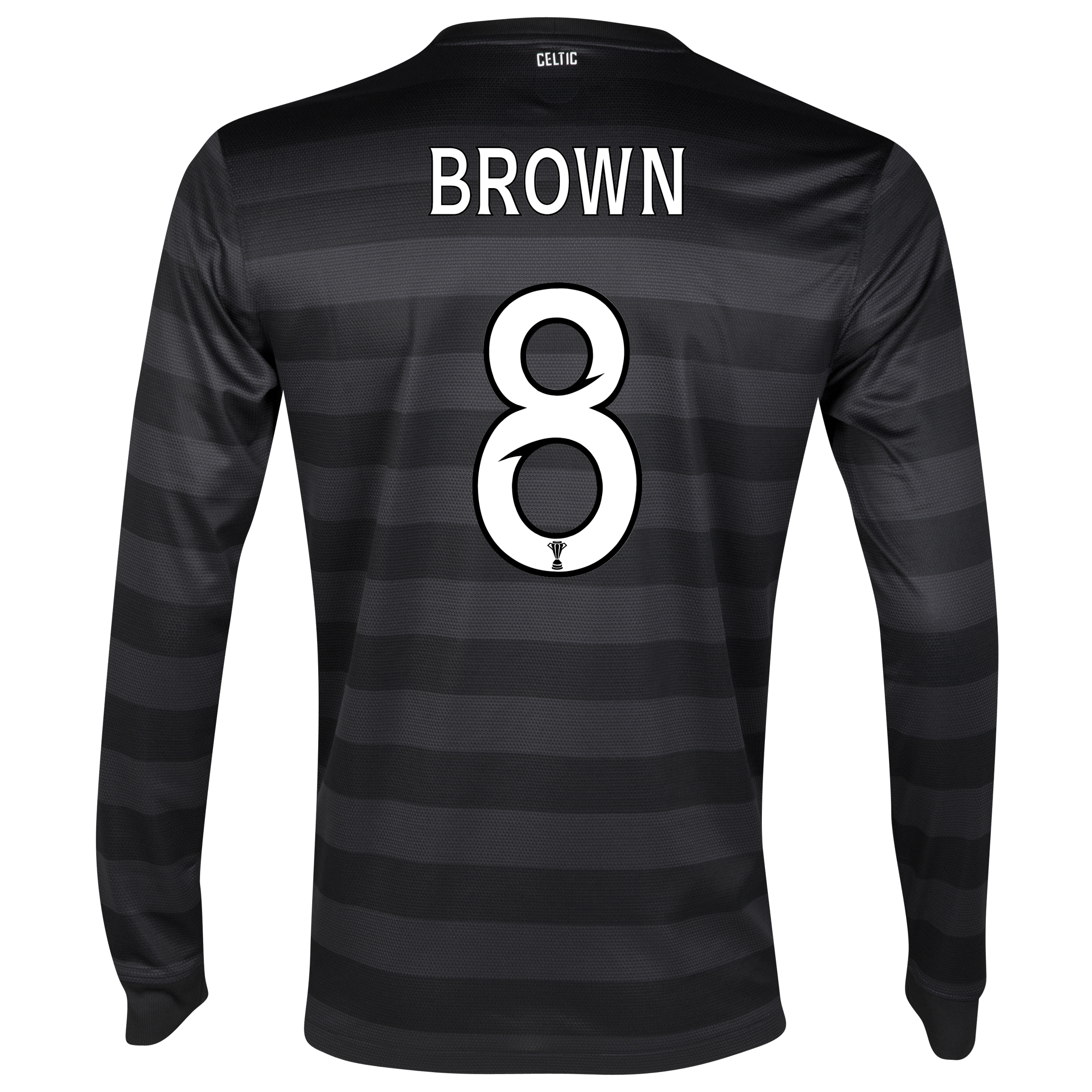 Celtic Away Shirt 2012/13 - Long Sleeved no sponsor with Brown 8 printing