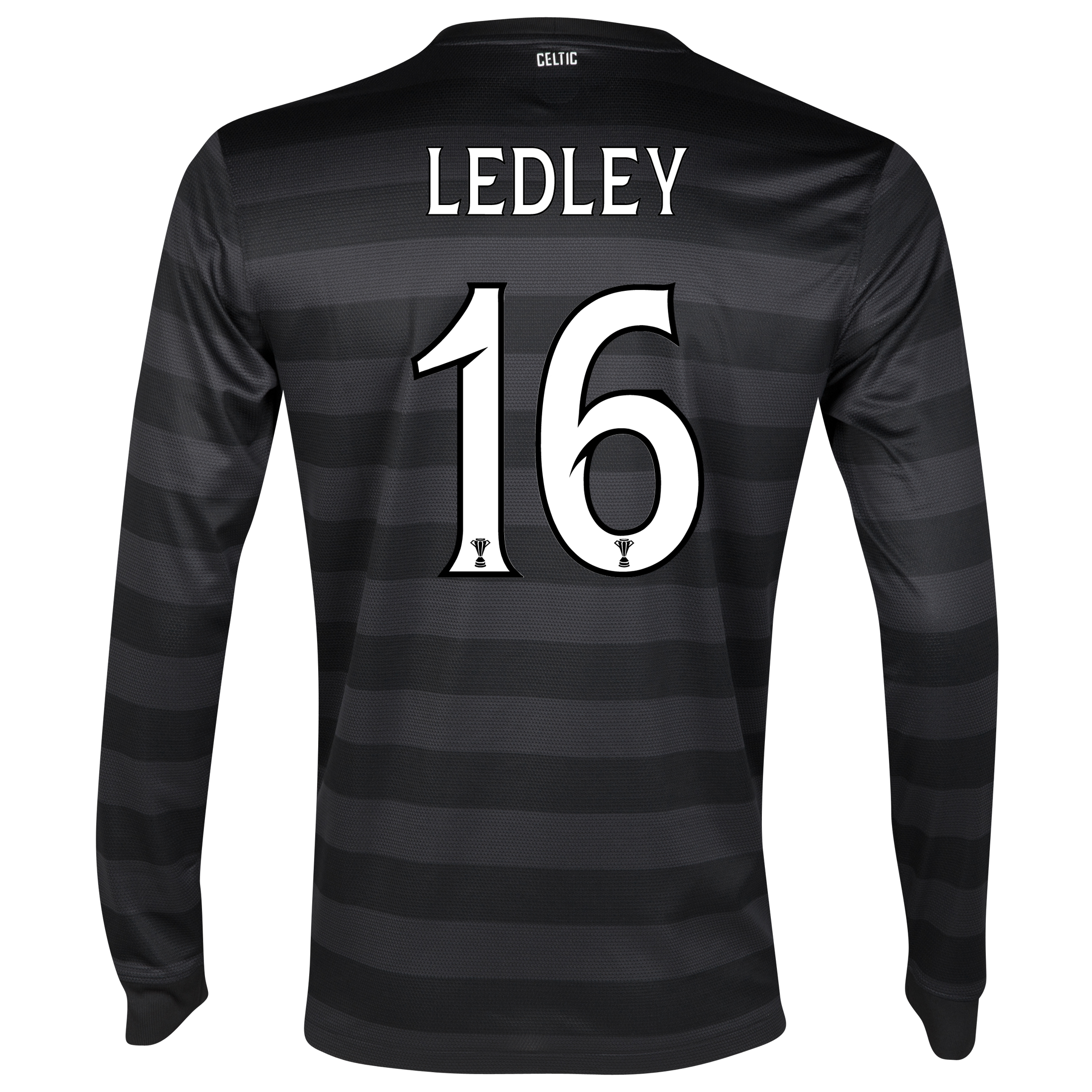 Celtic Away Shirt 2012/13 - Long Sleeved no sponsor with Ledley 16 printing