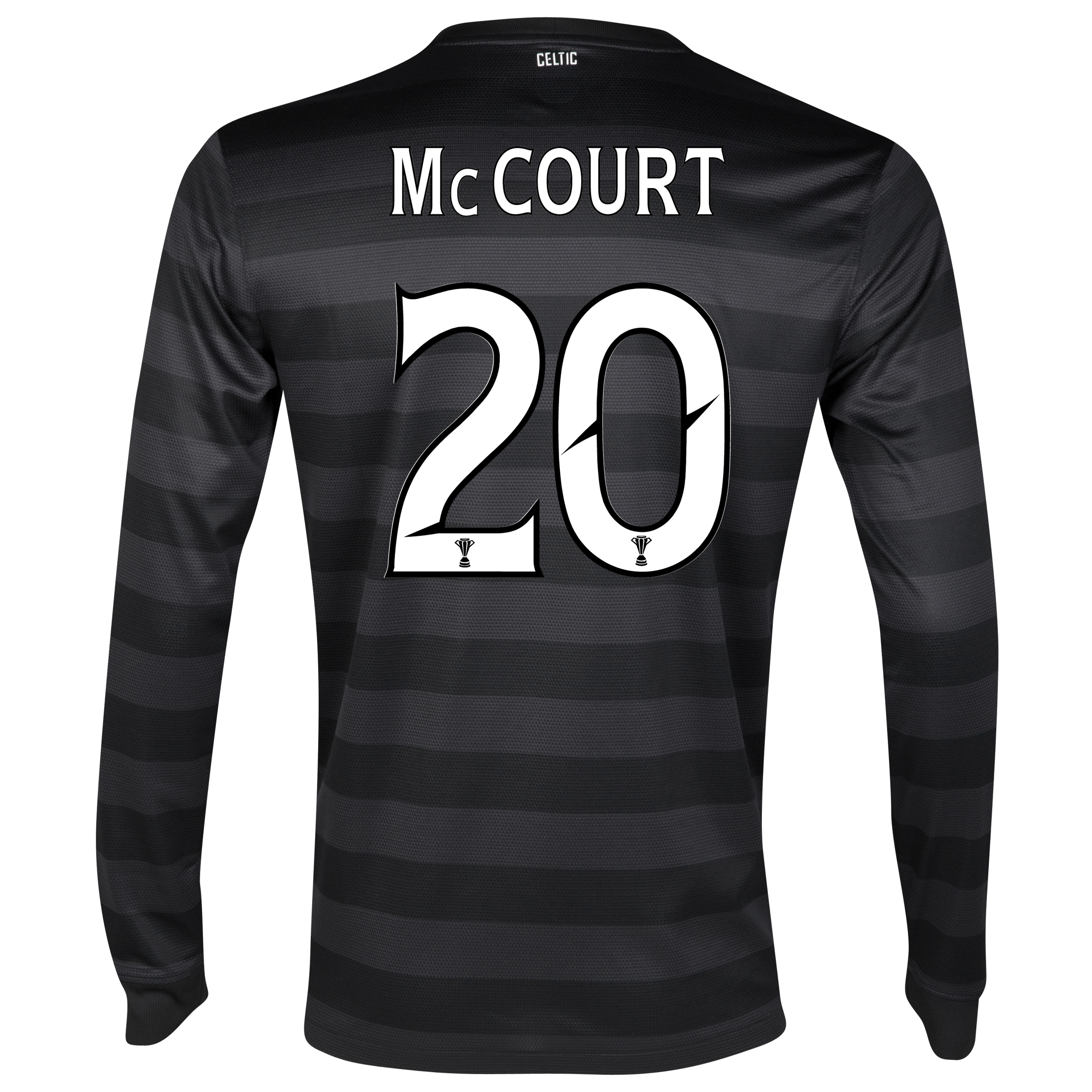 Celtic Away Shirt 2012/13 - Long Sleeved no sponsor with McCourt 20 printing