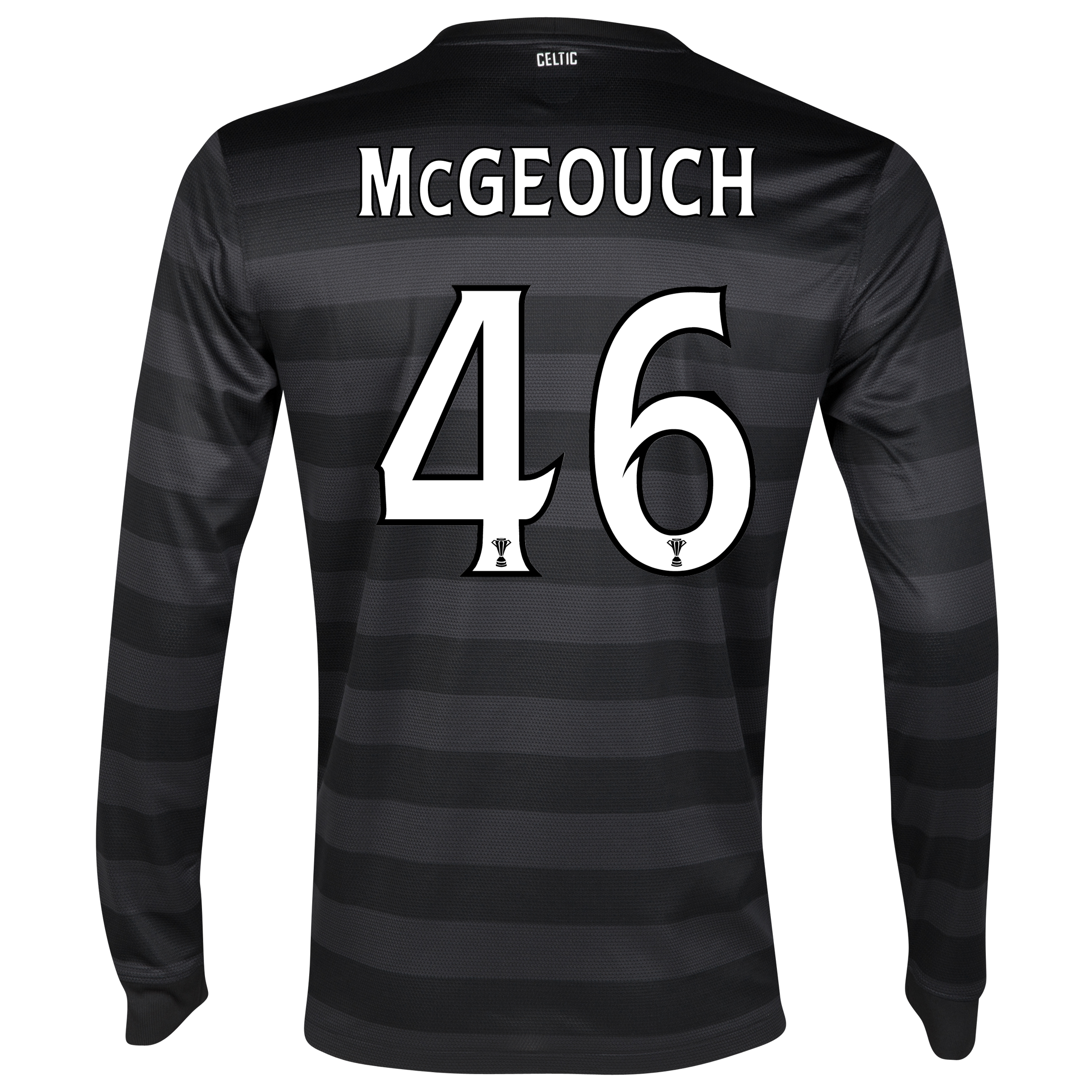 Celtic Away Shirt 2012/13 - Long Sleeved no sponsor with McGeouch  46 printing