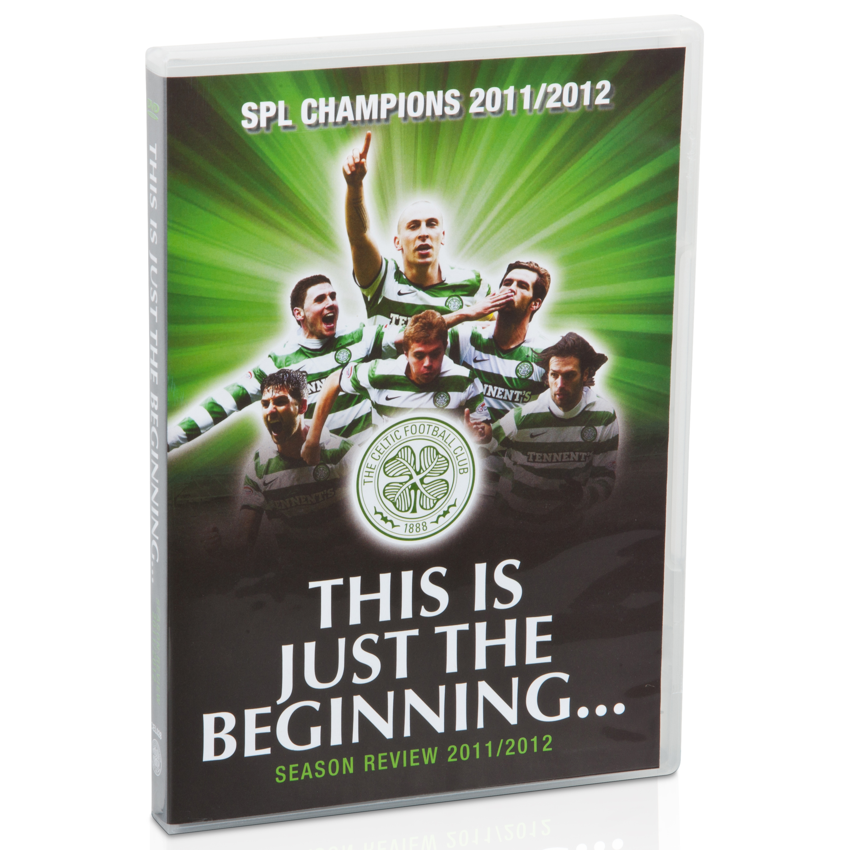 Celtic This Is Just The Beginning Season Review DVD