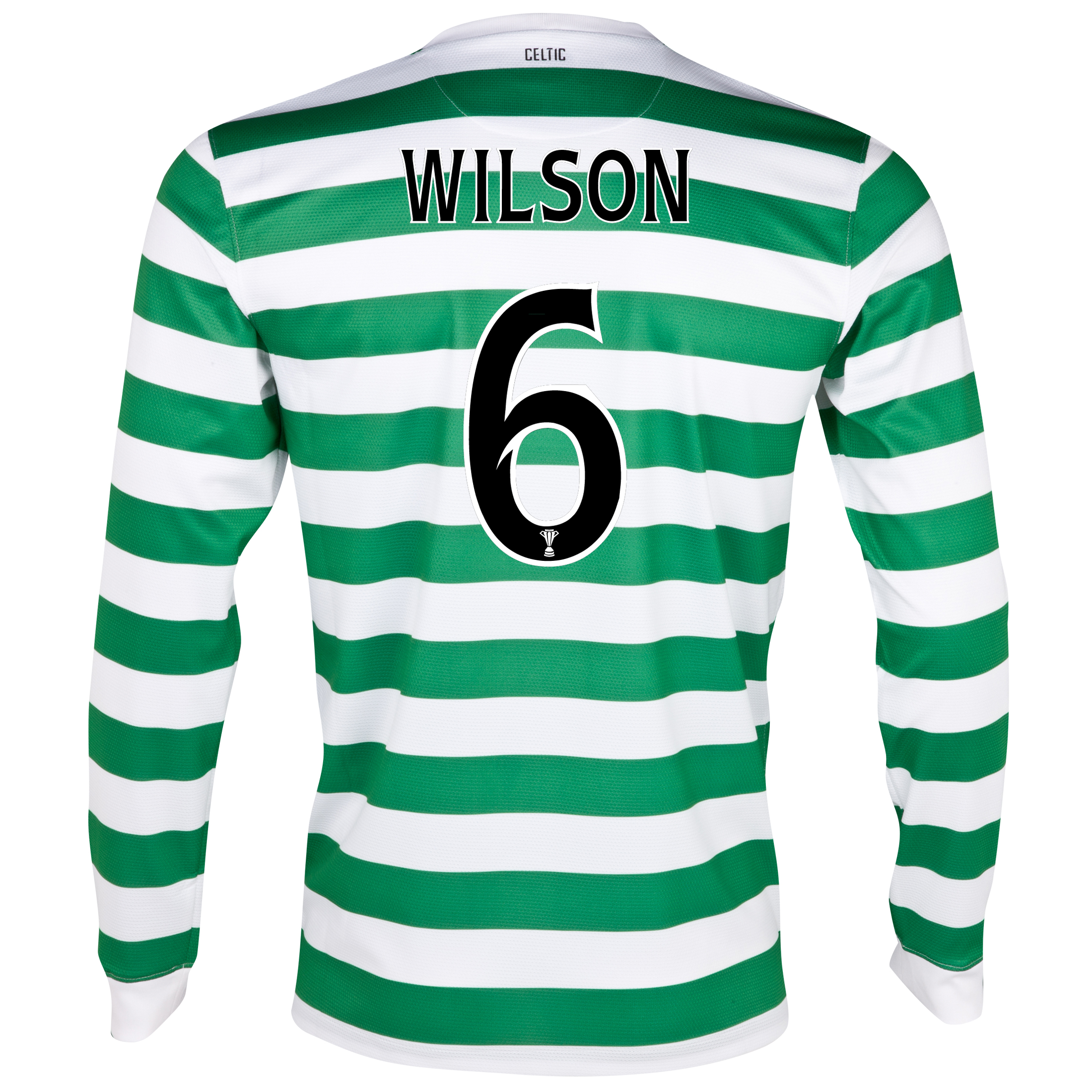 Celtic Home Shirt 2012/13 - Long Sleeved with Wilson 6 printing