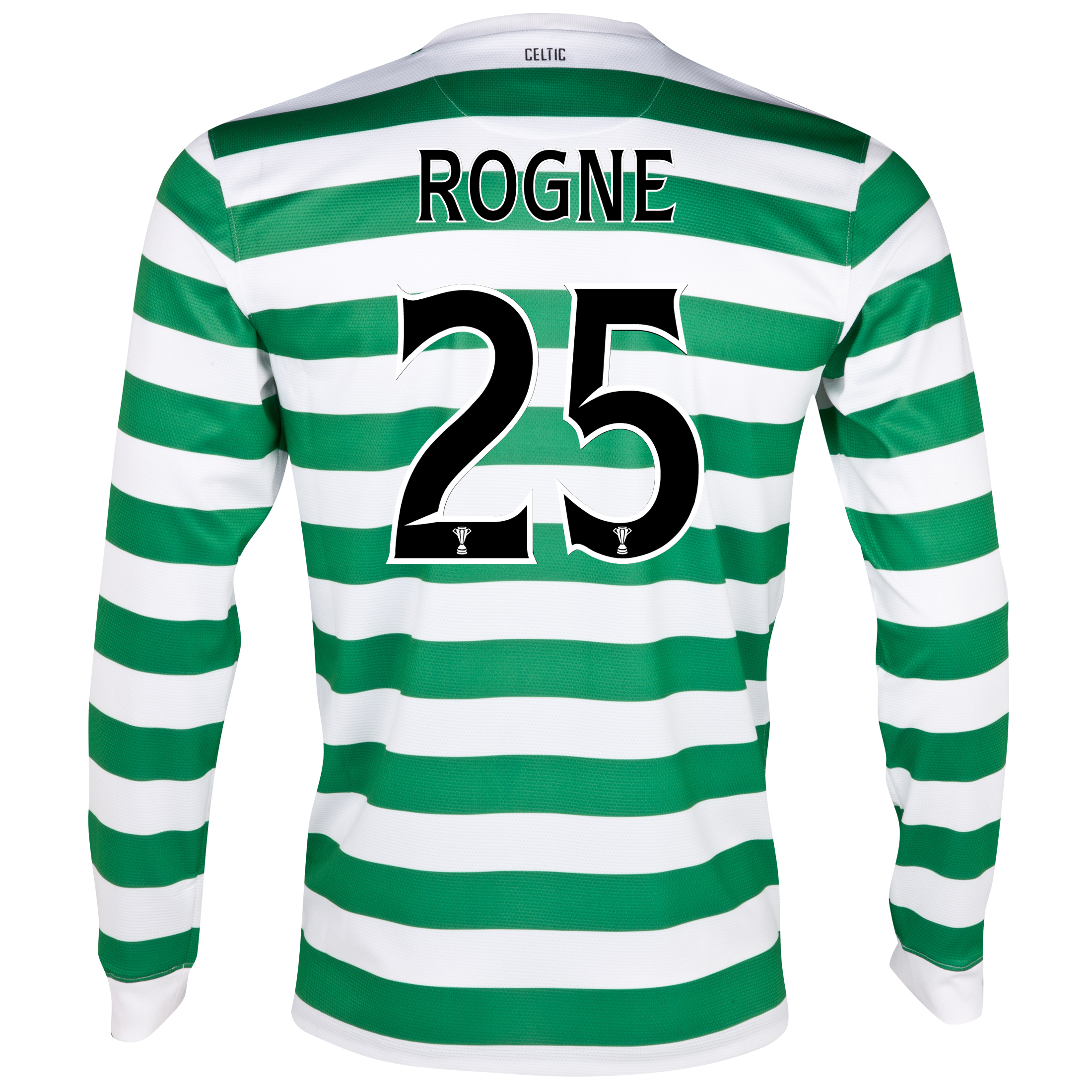 Celtic Home Shirt 2012/13 - Long Sleeved with Rogne 25 printing