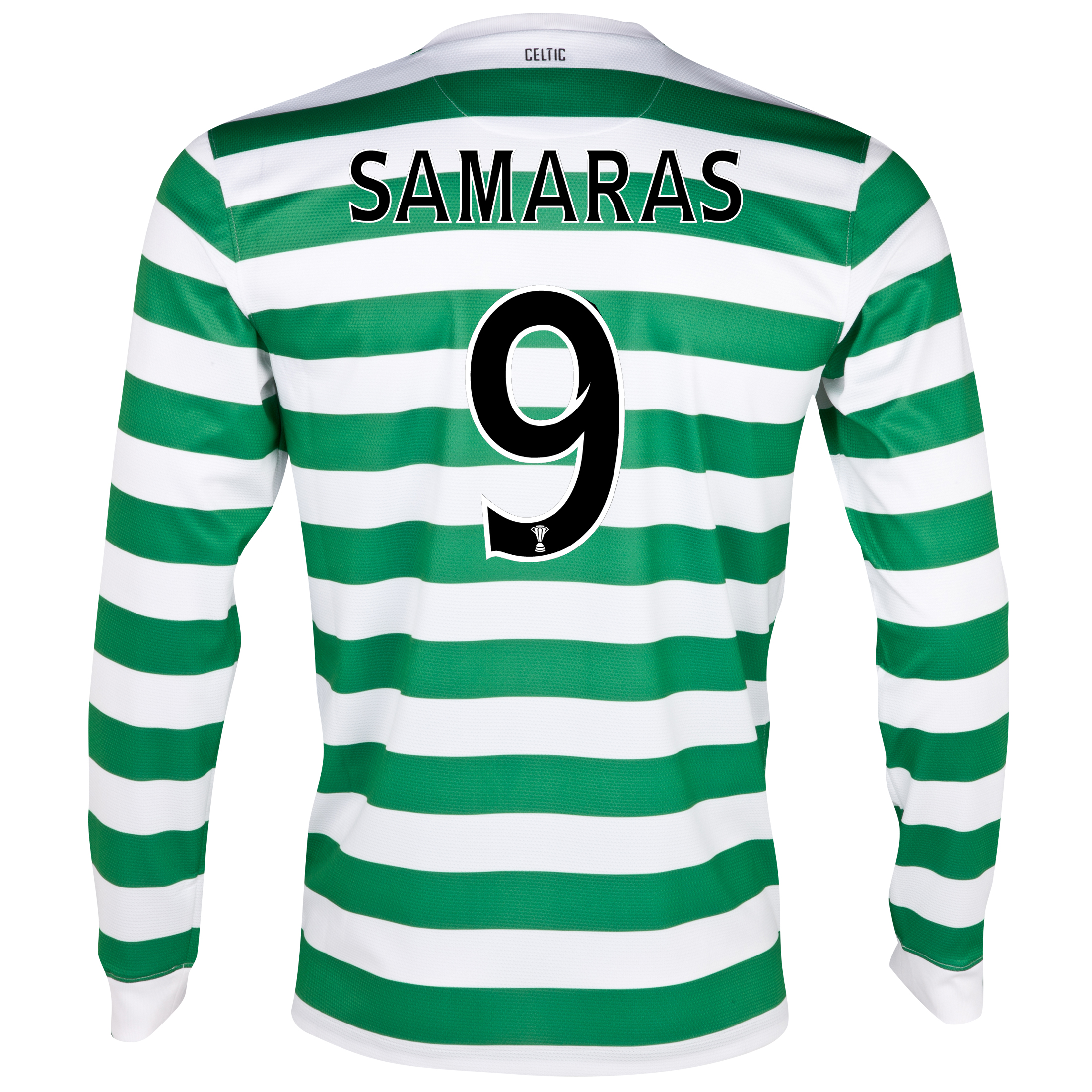 Celtic Home Shirt 2012/13 - Long Sleeved - No Sponsor with Samaras 9 printing