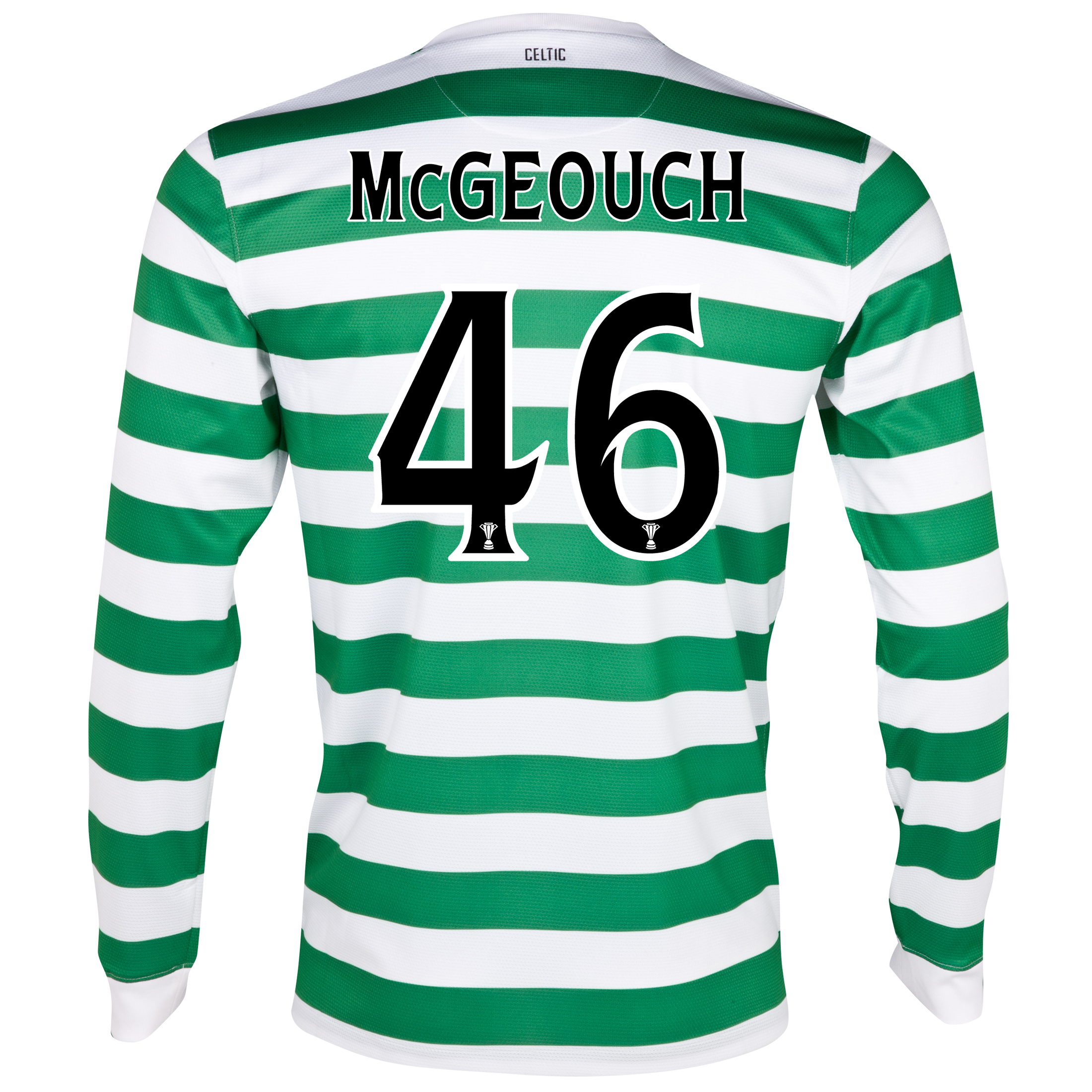 Celtic Home Shirt 2012/13 - Long Sleeved - No Sponsor with McGeouch  46 printing