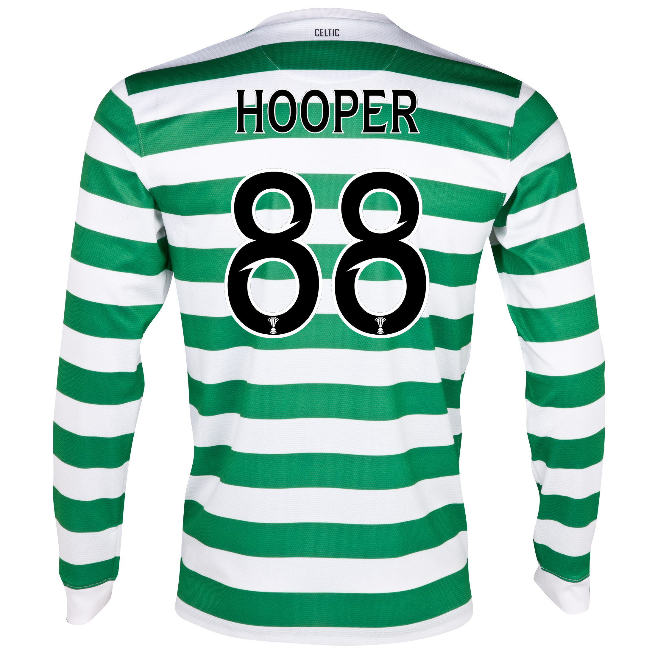 Celtic Home Shirt 2012/13 - Long Sleeved - No Sponsor with Hooper 88 printing