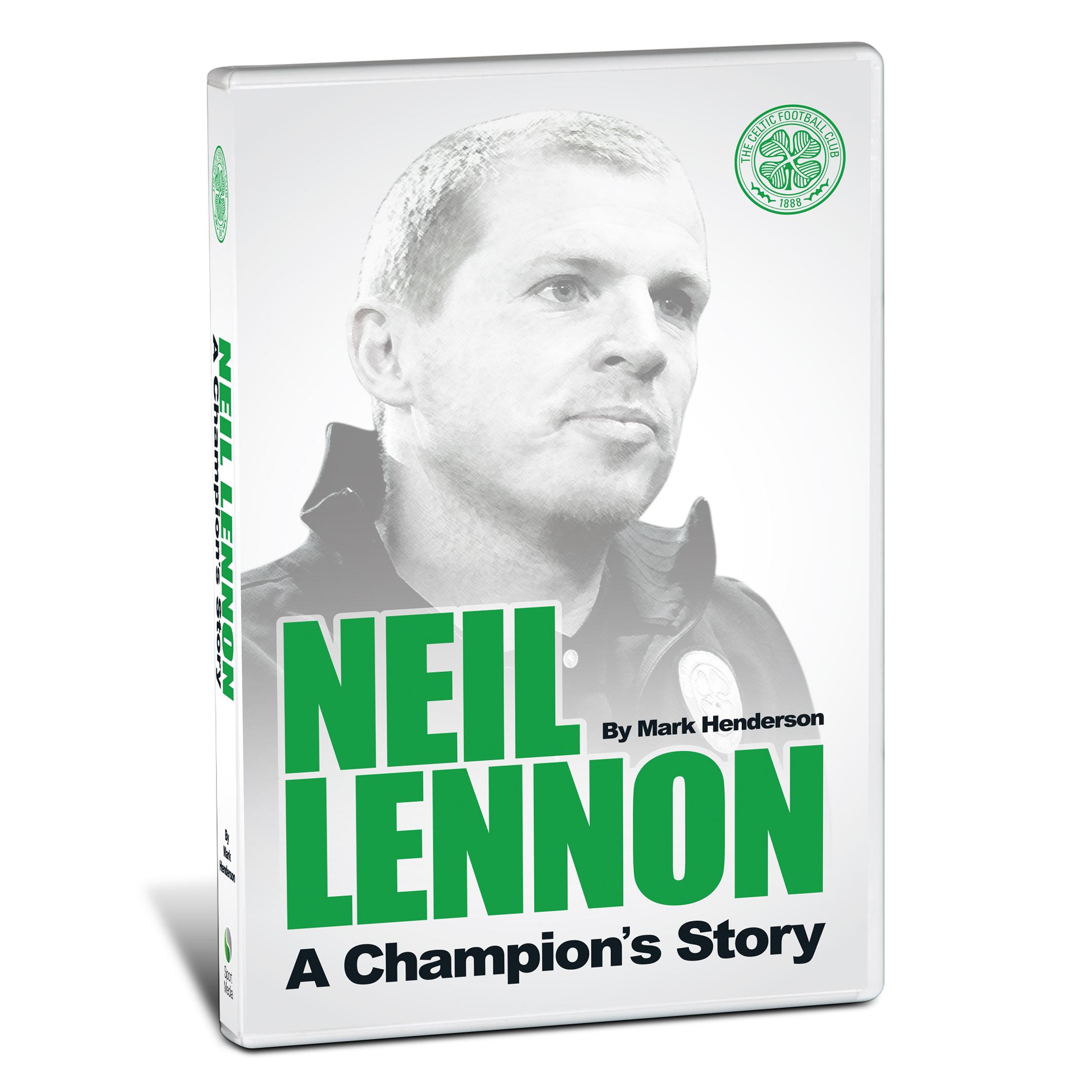 Celtic Neil Lennon A Champions Story - Book