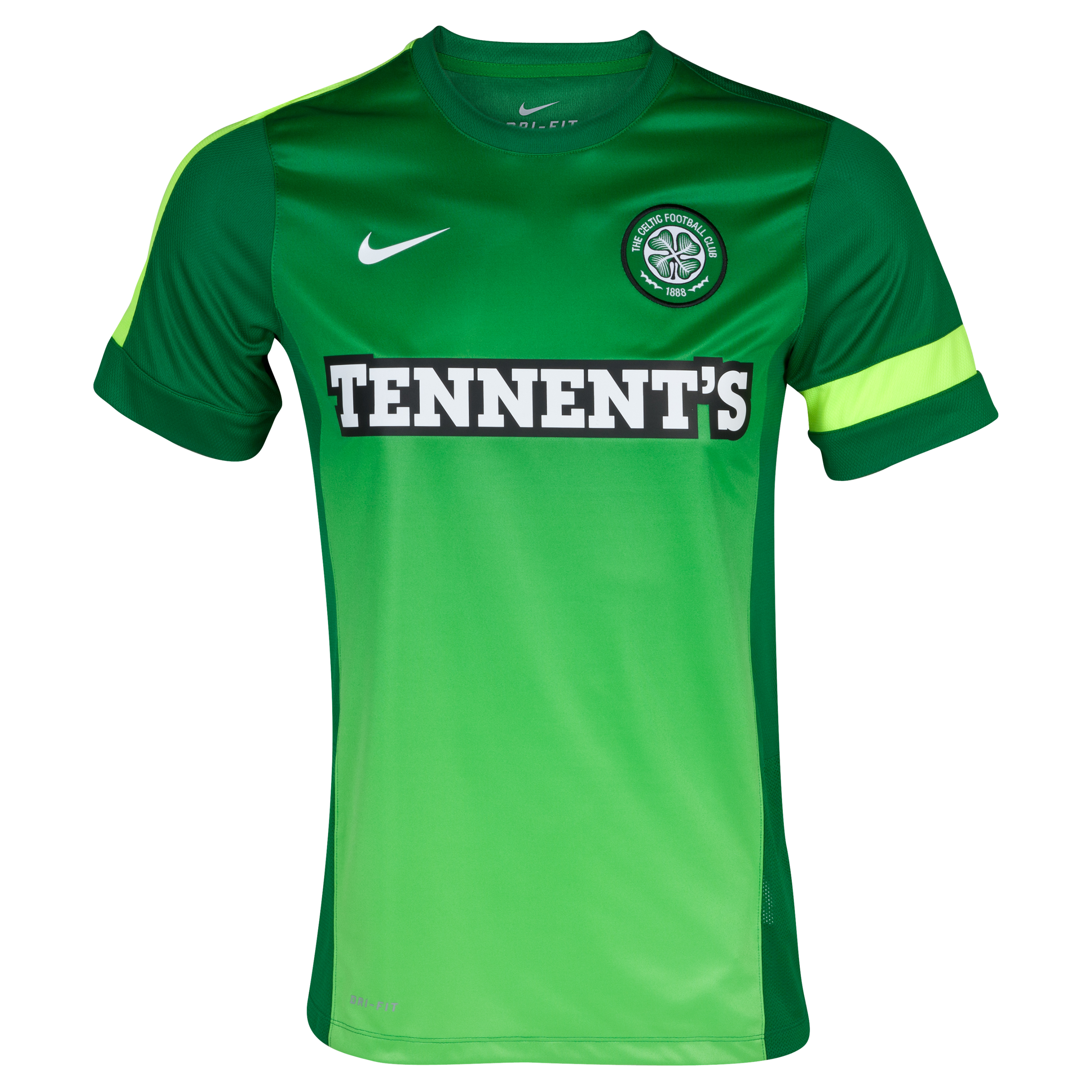 Celtic Training Top III - Victory Green/Victory Green/Volt/White