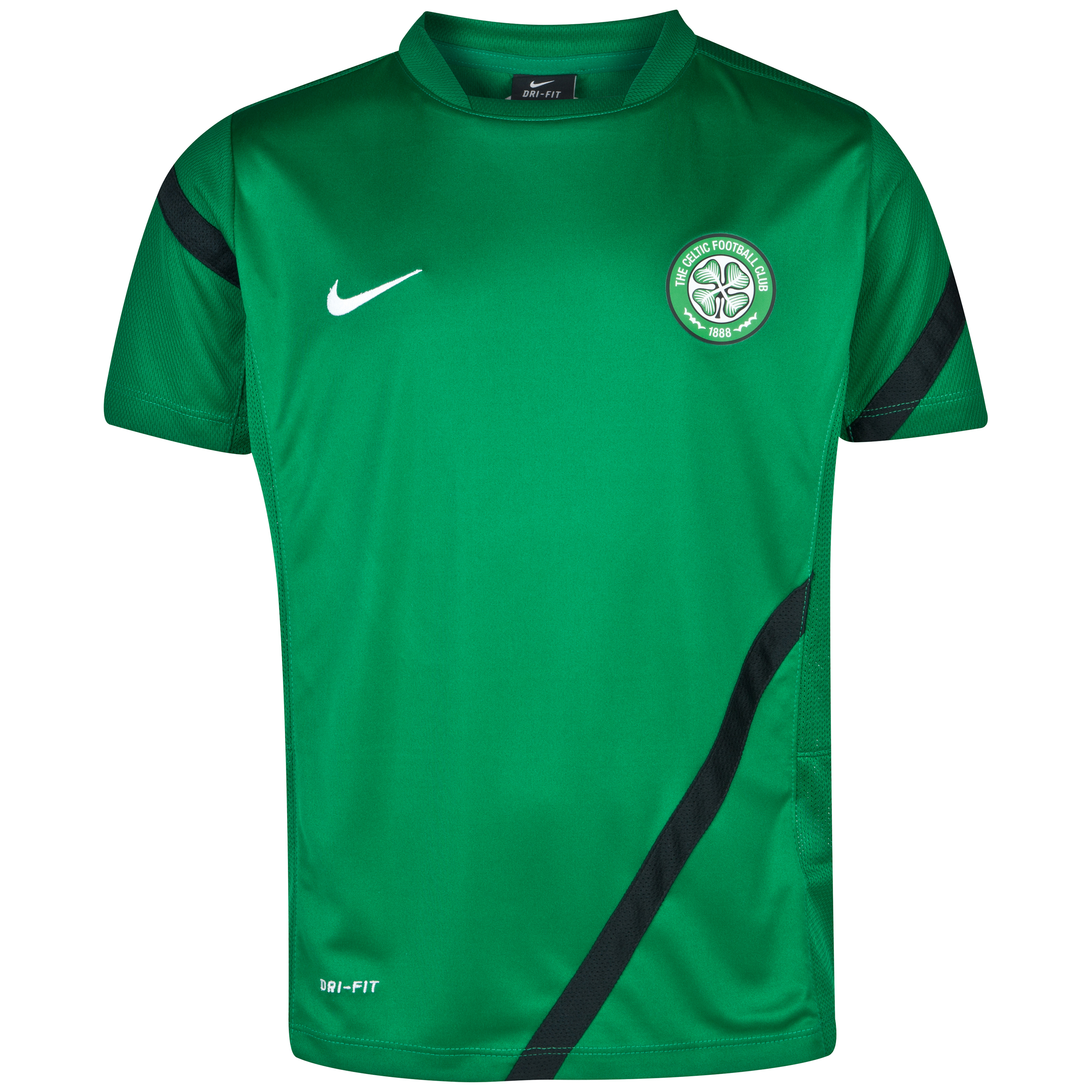 Celtic Comp Training Top - Pine Green - Kids