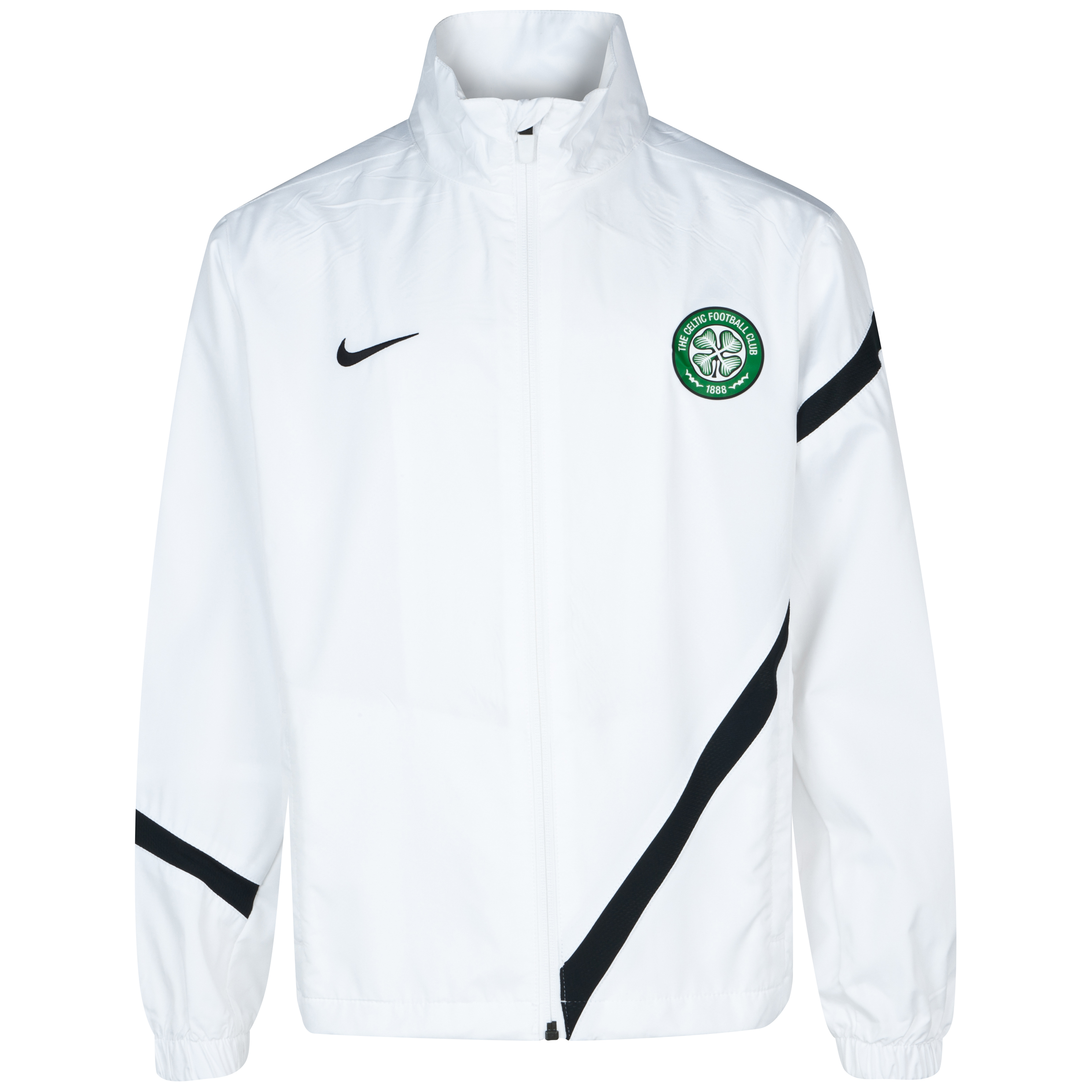 Celtic Comp Sideline Jacket - White - Kids