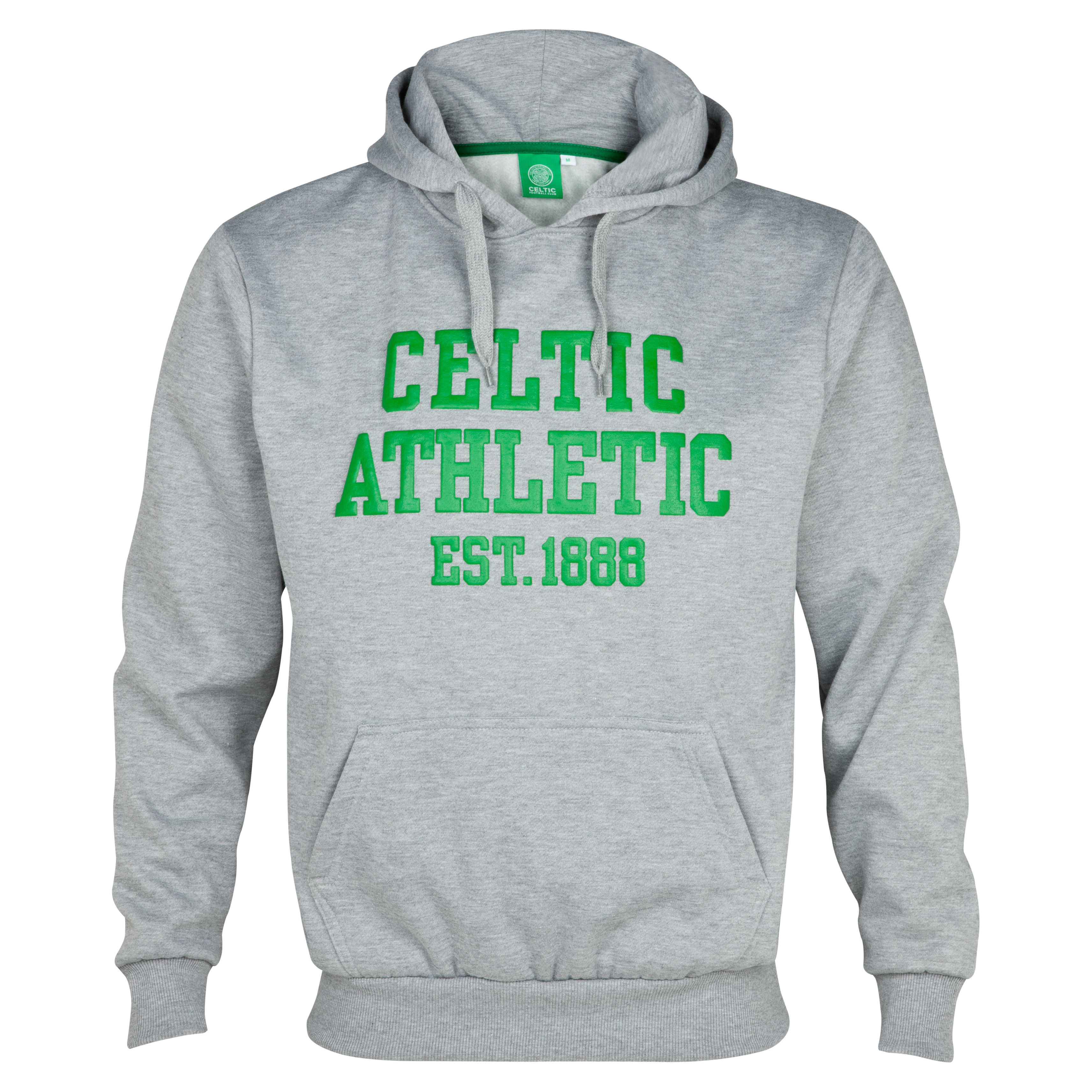 Celtic Essentials Athletic Hoody - Grey Marl