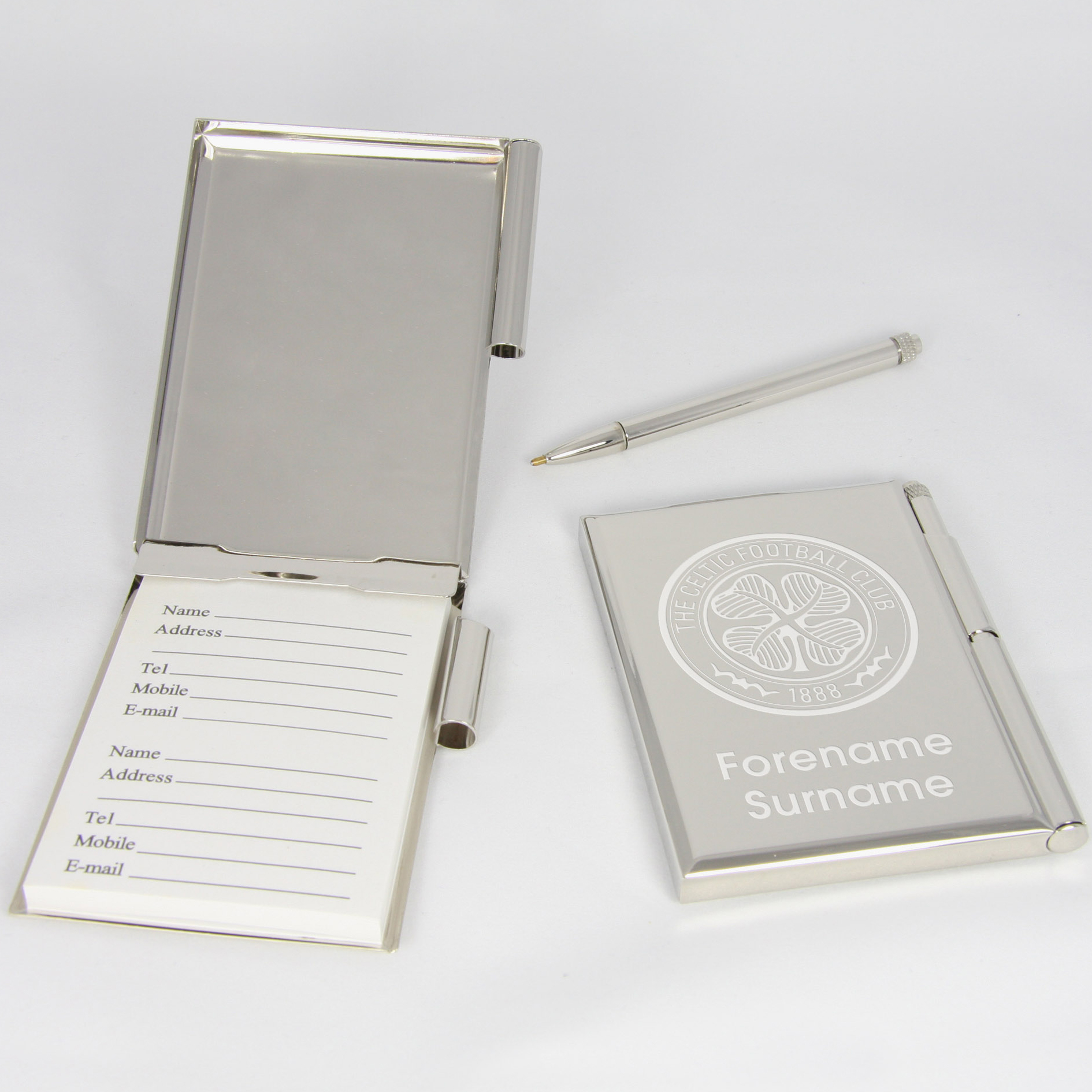 Celtic Personalised Address Book