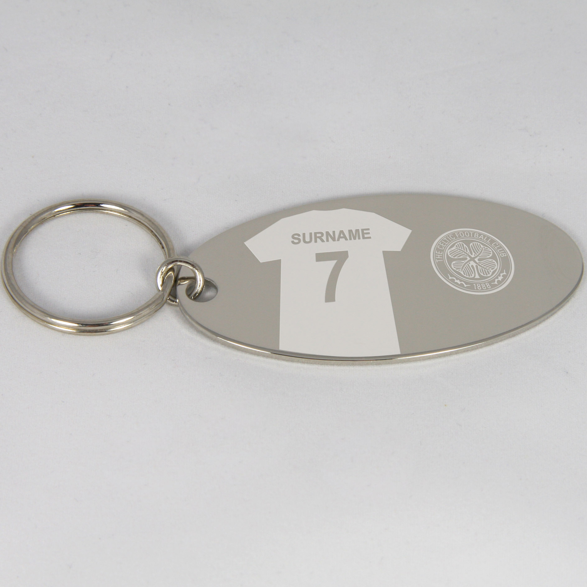 Celtic Personalised Keyring