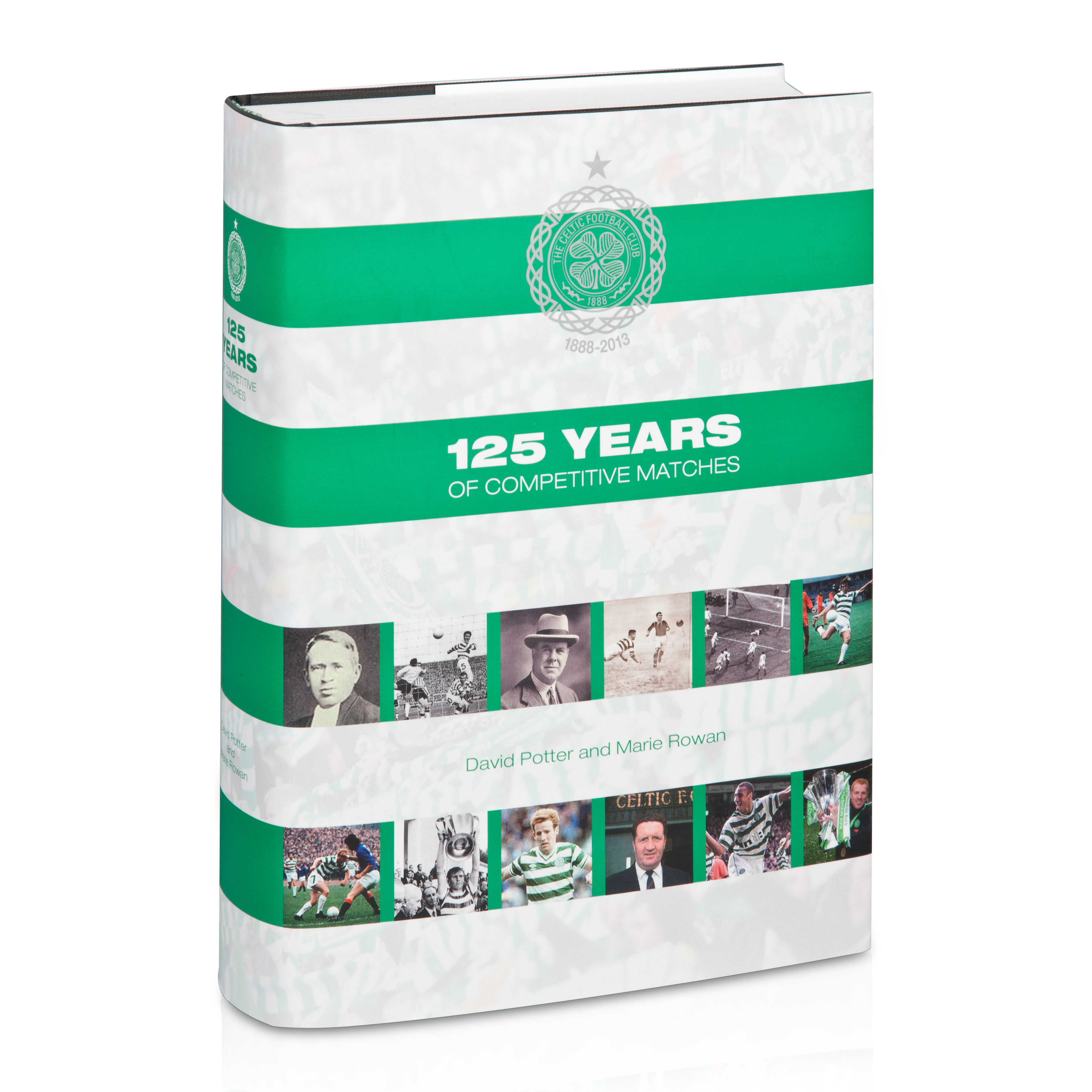 Celtic 125 Years of Celtic Hardback Book