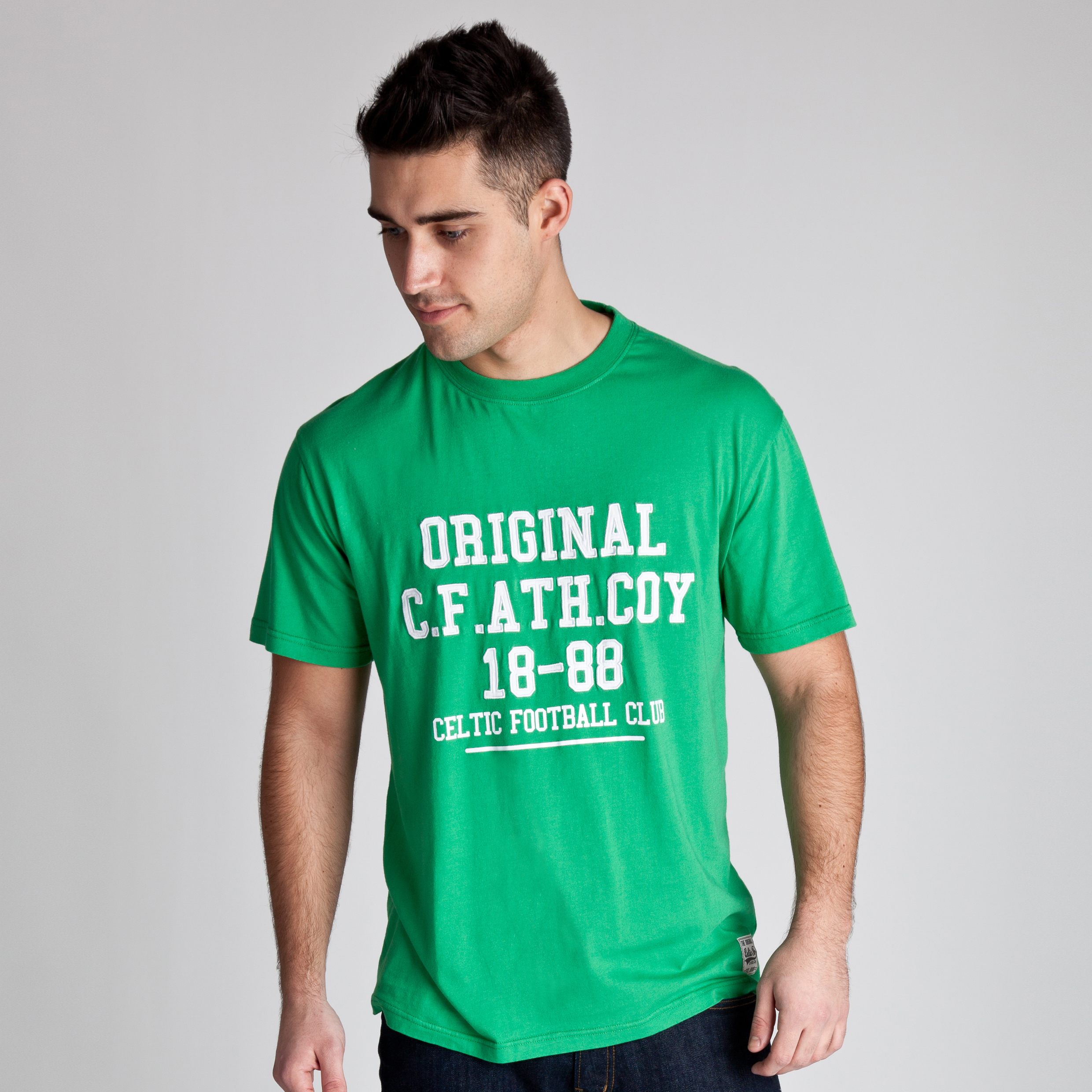 Celtic Heritage Original Graphic T-Shirt - Tiller Green - Mens