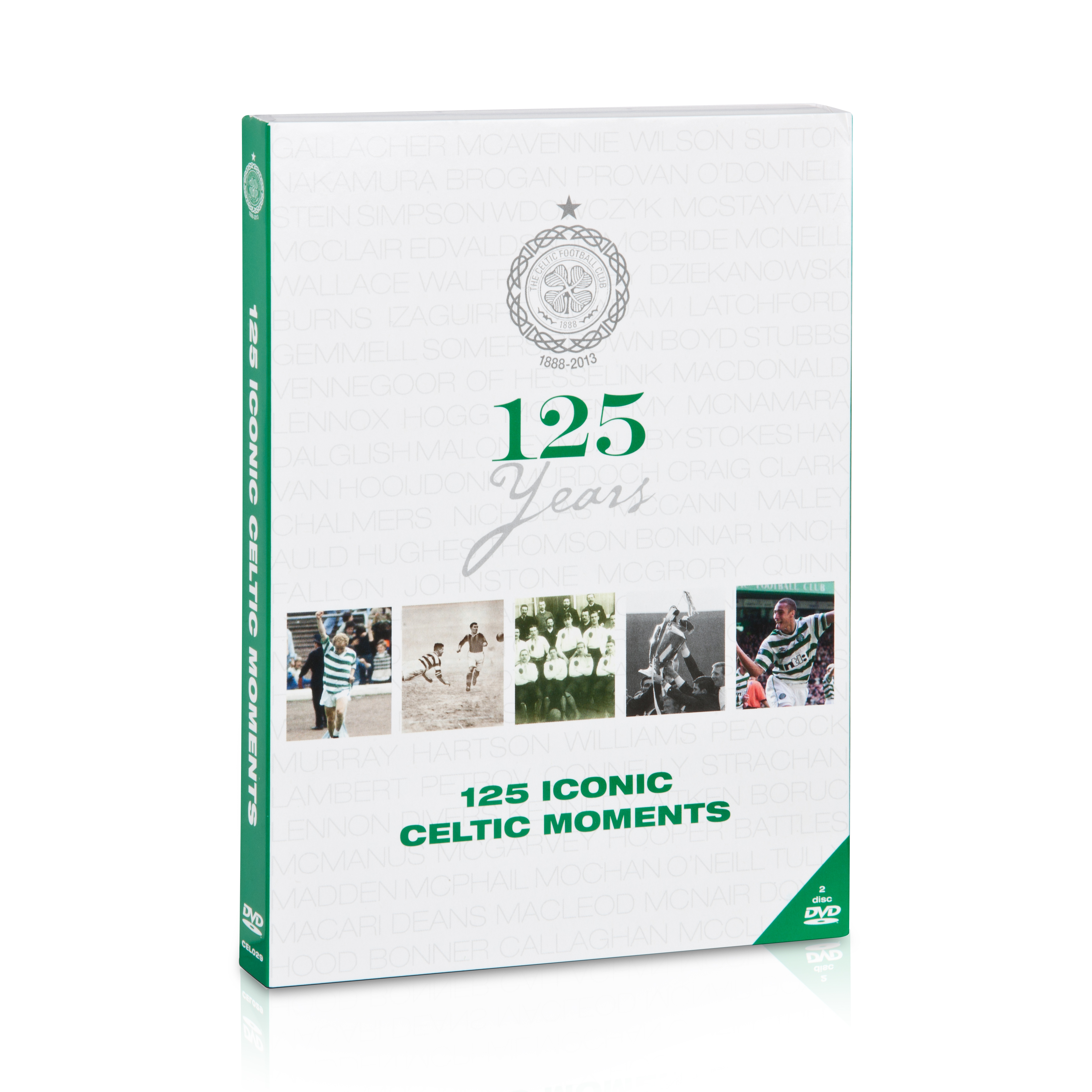 Celtic 125 Years of Celtic DVD - 2 Disc