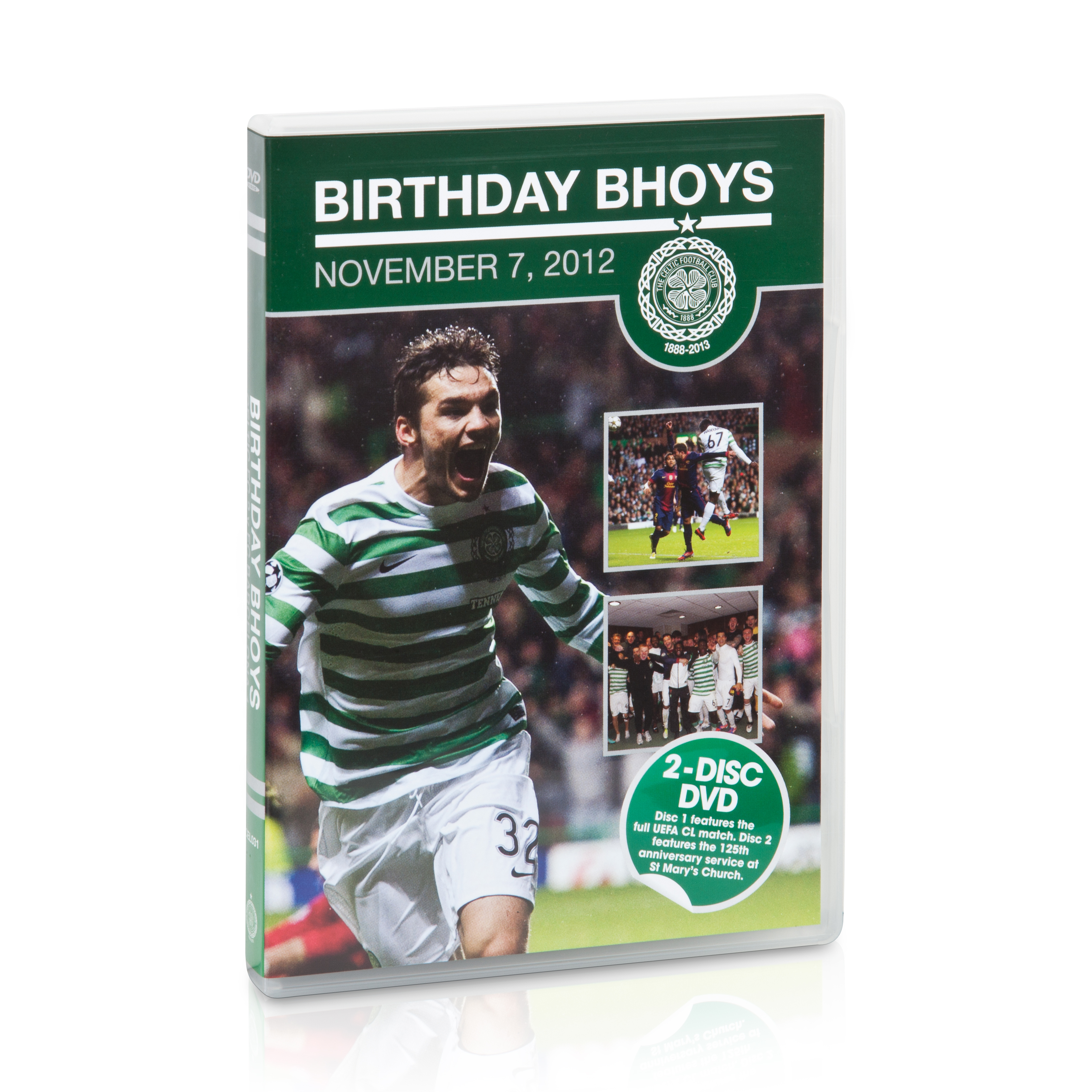Celtic Birthday Bhoys DVD