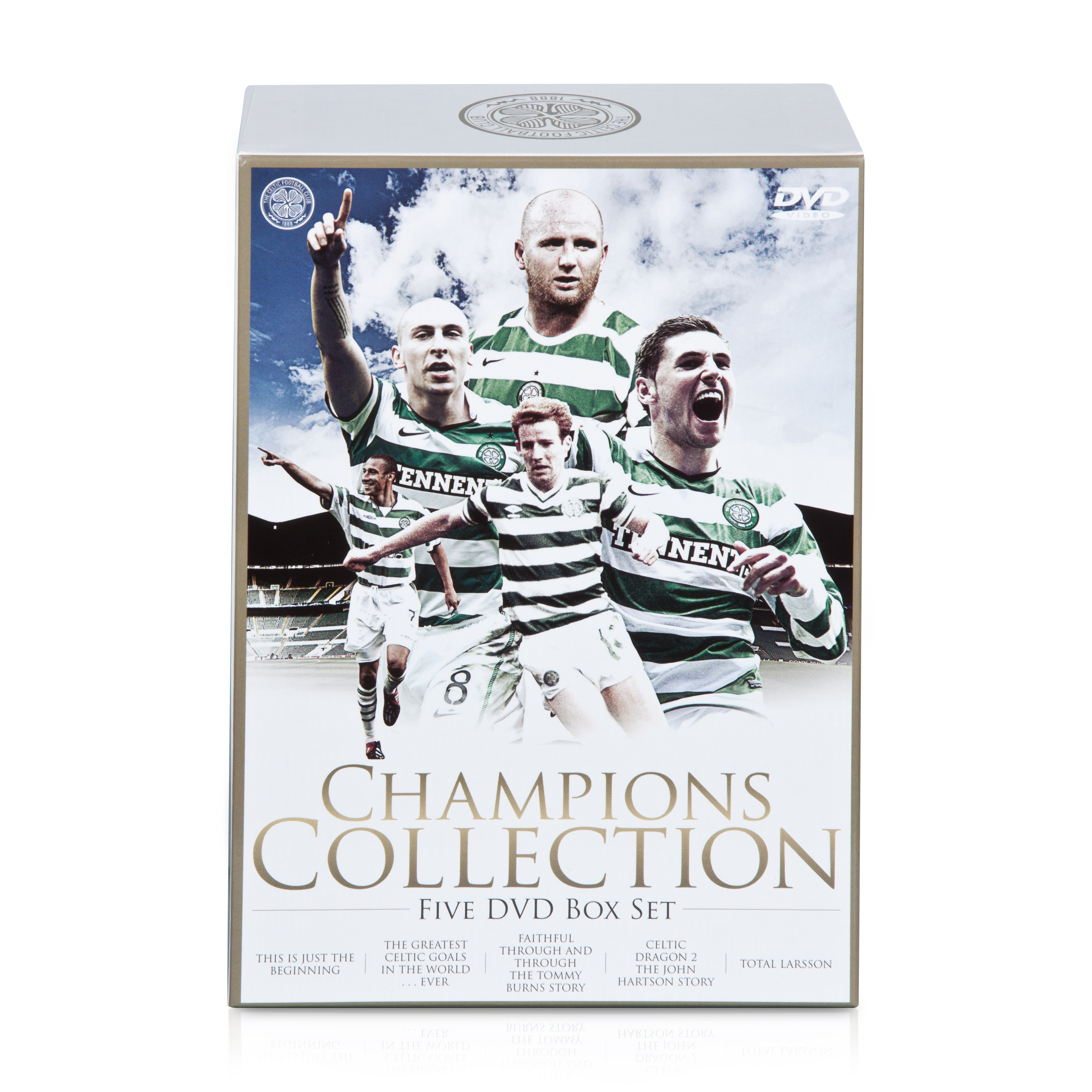 Celtic Champions Collection DVD Box Set