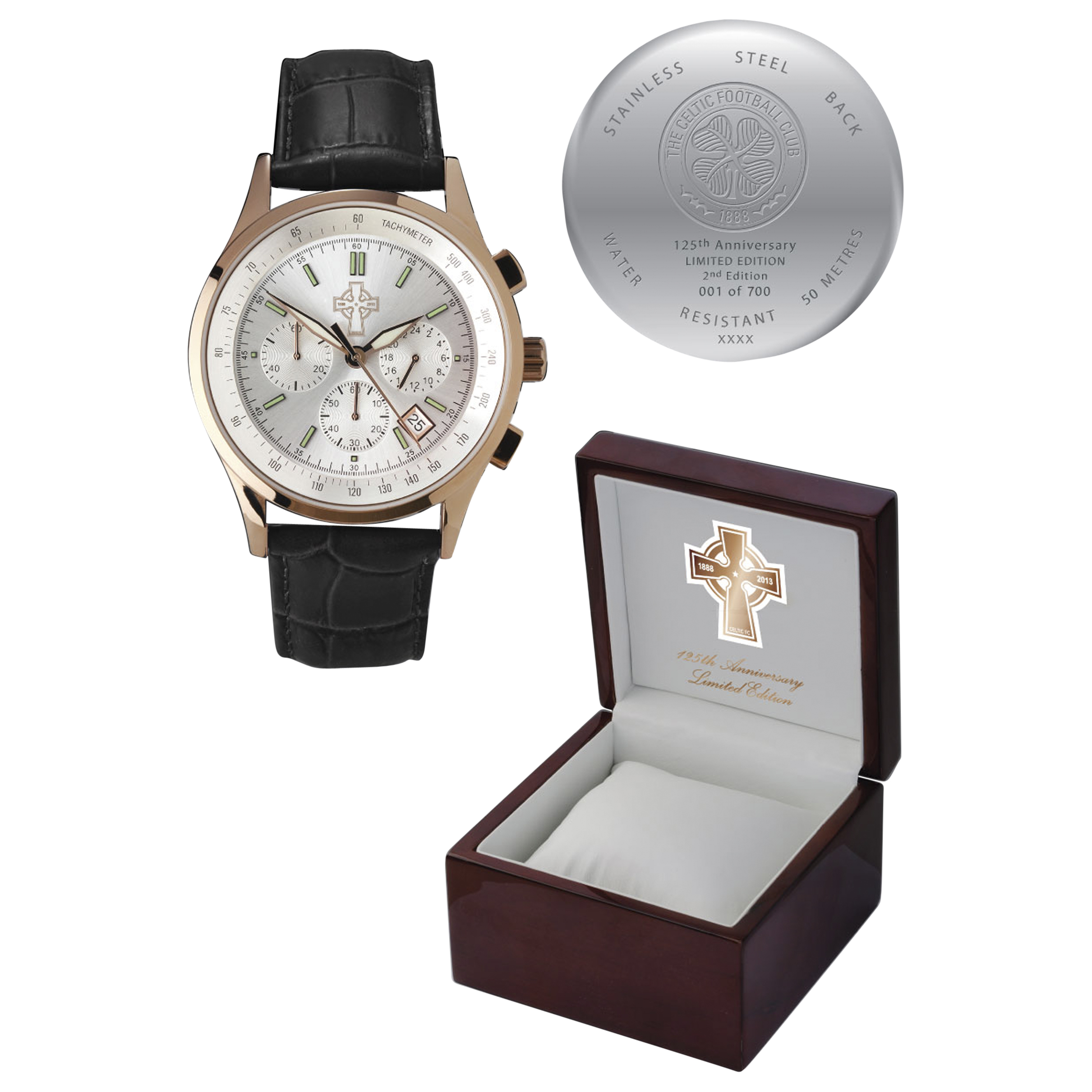 Celtic 125th Anniversary Limited Edition Watch - 2nd Edition