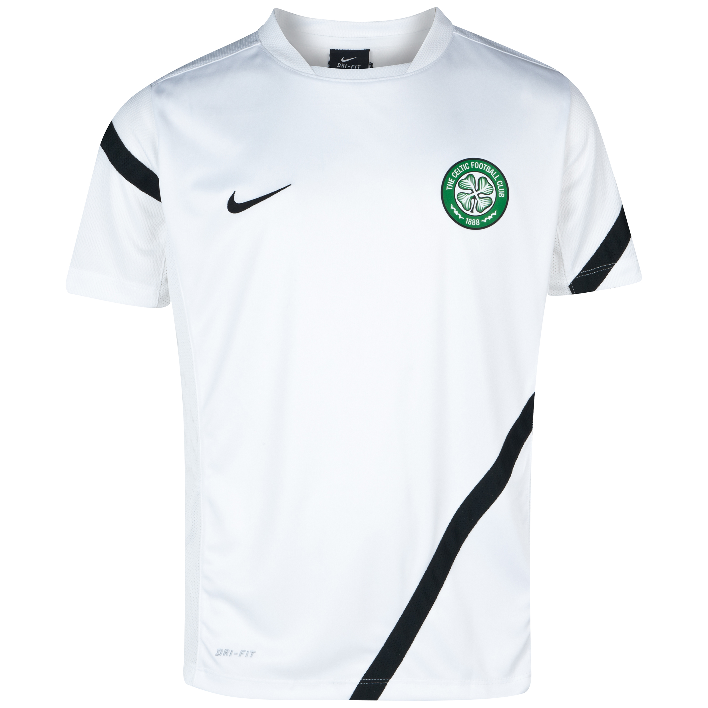 Celtic Comp Training Top - White - Youths